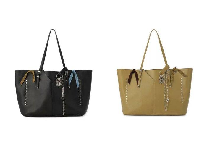 【TOGA PULLA/トーガ プルラ】のLeather tote bag 【バッグ・鞄】おすすめ!人気、トレンド・レディースファッションの通販 おすすめ人気トレンドファッション通販アイテム インテリア・キッズ・メンズ・レディースファッション・服の通販 founy(ファニー) https://founy.com/ ファッション Fashion レディースファッション WOMEN バッグ Bag 2021年 2021 2021-2022秋冬・A/W AW・Autumn/Winter・FW・Fall-Winter・2021-2022 A/W・秋冬 AW・Autumn/Winter・FW・Fall-Winter アクセサリー ウエスタン カッティング スタッズ チェーン ベーシック ポケット |ID:crp329100000059958