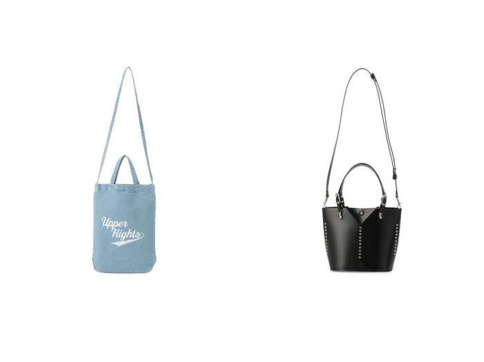 【upper hights/アッパー ハイツ】のTHE TOTE&【TOGA PULLA/トーガ プルラ】のLeather tote bag small 【バッグ・鞄】おすすめ!人気、トレンド・レディースファッションの通販 おすすめ人気トレンドファッション通販アイテム インテリア・キッズ・メンズ・レディースファッション・服の通販 founy(ファニー) https://founy.com/ ファッション Fashion レディースファッション WOMEN バッグ Bag デニム フォルム ラップ 夏 Summer 2021年 2021 2021-2022秋冬・A/W AW・Autumn/Winter・FW・Fall-Winter・2021-2022 A/W・秋冬 AW・Autumn/Winter・FW・Fall-Winter ウエスタン カッティング スタッズ メタル |ID:crp329100000059959