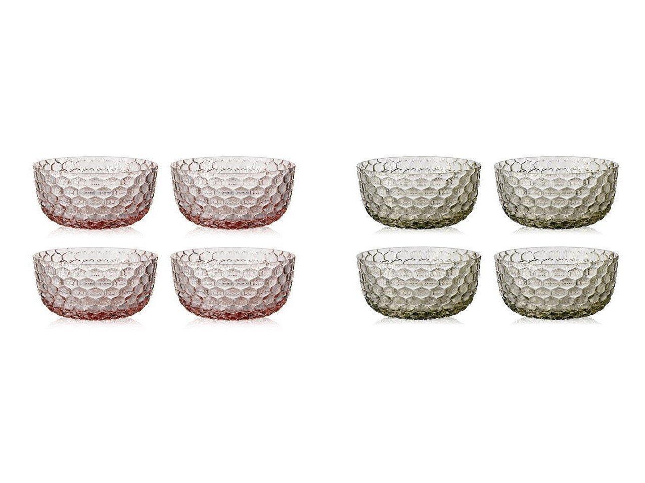 【Kartell/カルテル】のジェリーズファミリー ボウル4個セット 【FURNITURE】おすすめ!人気、インテリア雑貨・家具の通販 おすすめで人気の流行・トレンド、ファッションの通販商品 インテリア・家具・メンズファッション・キッズファッション・レディースファッション・服の通販 founy(ファニー) https://founy.com/ アウトドア ガラス テーブル 送料無料 Free Shipping |ID:crp329100000060053
