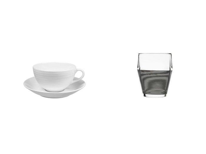 【Design House Stockholm/デザインハウスストックホルム】のテイモ タンブラー 2個セット&Blond dinnerware Cup & ブロンド ディナーウェア カップ&ソーサー(ストライプ) 【FURNITURE】おすすめ!人気、インテリア雑貨・家具の通販 おすすめ人気トレンドファッション通販アイテム インテリア・キッズ・メンズ・レディースファッション・服の通販 founy(ファニー) https://founy.com/ クラシック ストライプ テーブル プレート ガラス グラス シリコン タンブラー フィット |ID:crp329100000060060