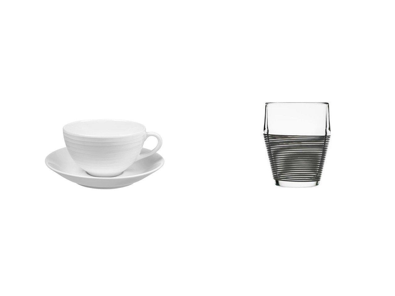 【Design House Stockholm/デザインハウスストックホルム】のテイモ タンブラー 2個セット&Blond dinnerware Cup & ブロンド ディナーウェア カップ&ソーサー(ストライプ) 【FURNITURE】おすすめ!人気、インテリア雑貨・家具の通販 おすすめで人気の流行・トレンド、ファッションの通販商品 インテリア・家具・メンズファッション・キッズファッション・レディースファッション・服の通販 founy(ファニー) https://founy.com/ クラシック ストライプ テーブル プレート ガラス グラス シリコン タンブラー フィット |ID:crp329100000060060
