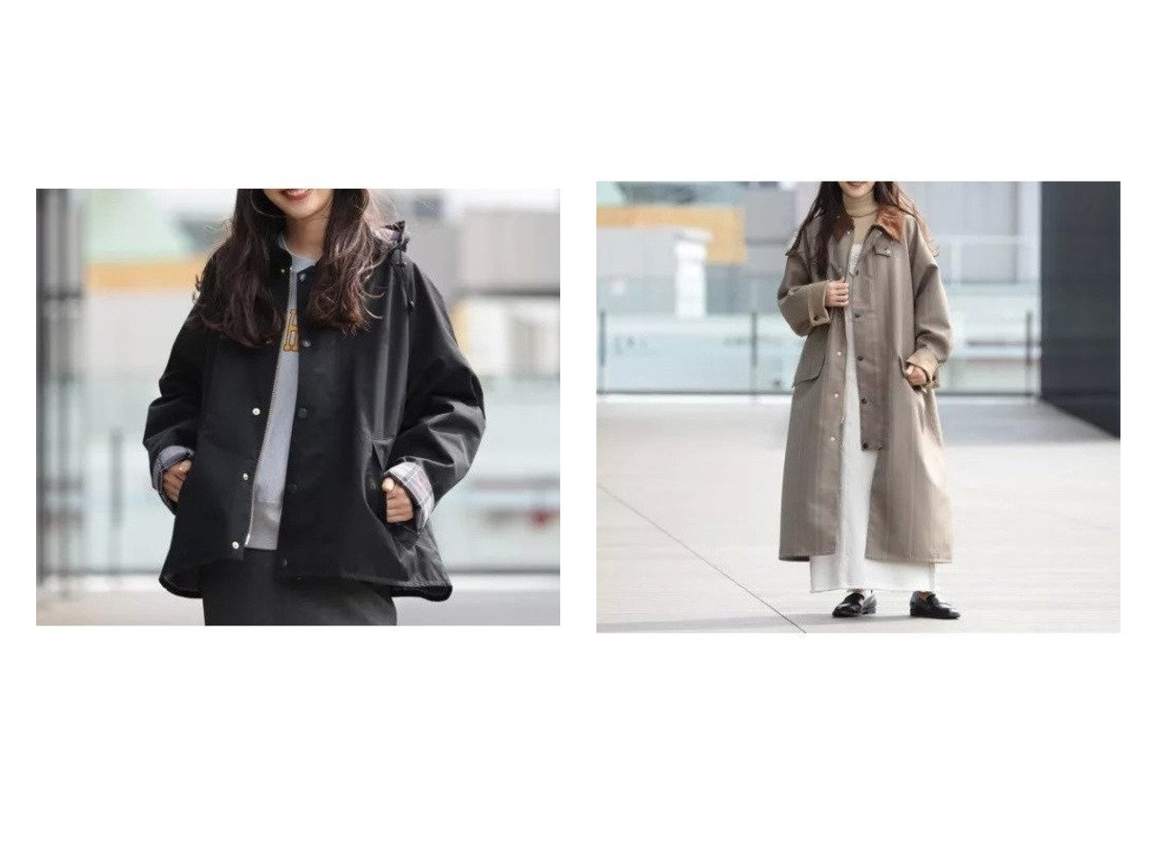 【Demi-Luxe BEAMS/デミルクス ビームス】の別注 OS BURGHLEY コート&別注 TRANSPORT ブルゾン 【アウター】おすすめ!人気、トレンド・レディースファッションの通販 おすすめで人気の流行・トレンド、ファッションの通販商品 インテリア・家具・メンズファッション・キッズファッション・レディースファッション・服の通販 founy(ファニー) https://founy.com/ ファッション Fashion レディースファッション WOMEN アウター Coat Outerwear ジャケット Jackets ブルゾン Blouson/Jackets コート Coats アウトドア ジャケット スリーブ チェック 人気 ブルゾン 別注 クラシカル コーデュロイ ストライプ フラップ フロント ポケット モダン |ID:crp329100000060281