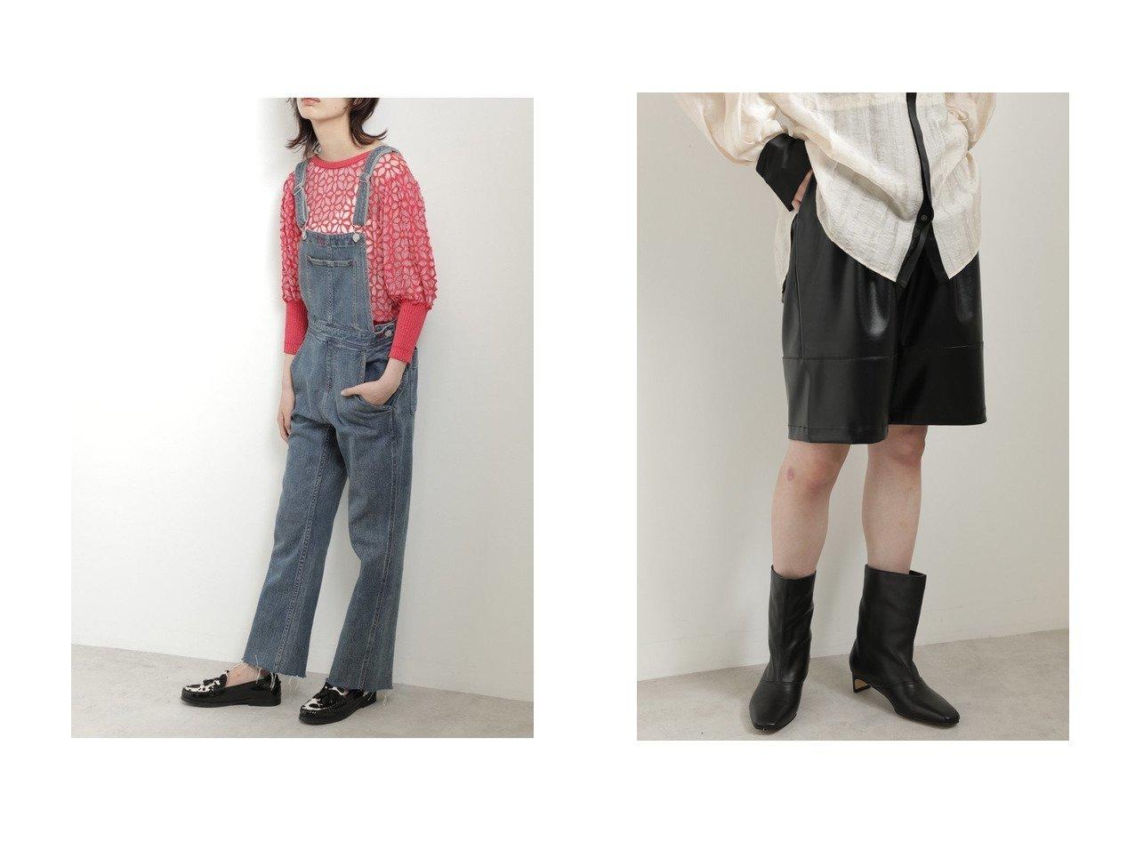 【ROSE BUD/ローズバッド】のストレートデニムオーバーオール&フェイクレザーハーフパンツ 【パンツ】おすすめ!人気、トレンド・レディースファッションの通販 おすすめで人気の流行・トレンド、ファッションの通販商品 インテリア・家具・メンズファッション・キッズファッション・レディースファッション・服の通販 founy(ファニー) https://founy.com/ ファッション Fashion レディースファッション WOMEN パンツ Pants ハーフ / ショートパンツ Short Pants 2020年 2020 2020-2021秋冬・A/W AW・Autumn/Winter・FW・Fall-Winter/2020-2021 2021年 2021 2021-2022秋冬・A/W AW・Autumn/Winter・FW・Fall-Winter・2021-2022 A/W・秋冬 AW・Autumn/Winter・FW・Fall-Winter デニム ショート ハーフ フェイクレザー ポケット  ID:crp329100000060456