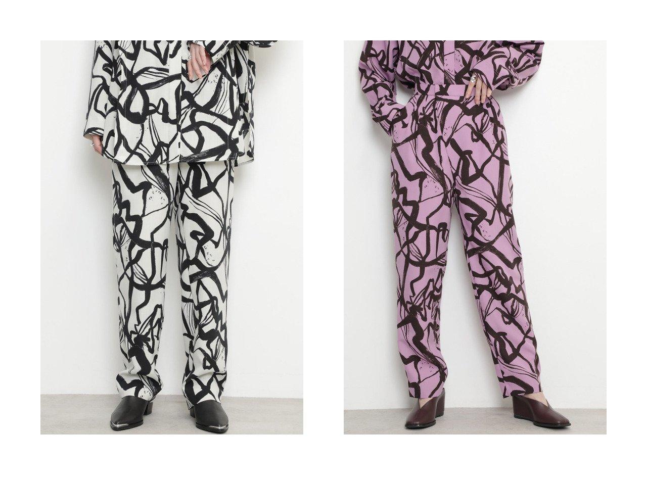 【ROSE BUD/ローズバッド】のテーパードパンツ 【パンツ】おすすめ!人気、トレンド・レディースファッションの通販 おすすめで人気の流行・トレンド、ファッションの通販商品 インテリア・家具・メンズファッション・キッズファッション・レディースファッション・服の通販 founy(ファニー) https://founy.com/ ファッション Fashion レディースファッション WOMEN パンツ Pants 2020年 2020 2020-2021秋冬・A/W AW・Autumn/Winter・FW・Fall-Winter/2020-2021 2021年 2021 2021-2022秋冬・A/W AW・Autumn/Winter・FW・Fall-Winter・2021-2022 A/W・秋冬 AW・Autumn/Winter・FW・Fall-Winter おすすめ Recommend シンプル セットアップ プリント  ID:crp329100000060458