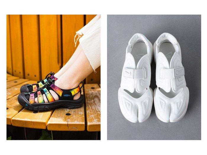 【KEEN/キーン】の(WOMEN)NEWPORT RETRO&【UNITED ARROWS/ユナイテッドアローズ】のNIKE(ナイキ) アクアリフト スニーカー 【シューズ・靴】おすすめ!人気、トレンド・レディースファッションの通販 おすすめ人気トレンドファッション通販アイテム インテリア・キッズ・メンズ・レディースファッション・服の通販 founy(ファニー) https://founy.com/ ファッション Fashion レディースファッション WOMEN ウォッシャブル クッション 軽量 サンダル シューズ フィット ミュール ライニング ラバー NEW・新作・新着・新入荷 New Arrivals クラシック スニーカー スリッポン ビーチ  ID:crp329100000060533
