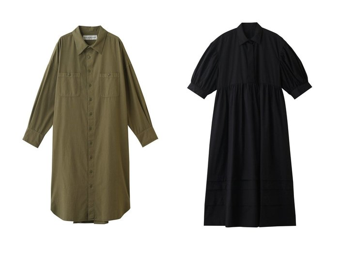 【Shinzone/シンゾーン】のミリタリーシャツワンピース&マッケンジードレス 【ワンピース・ドレス】おすすめ!人気、トレンド・レディースファッションの通販 おすすめ人気トレンドファッション通販アイテム 人気、トレンドファッション・服の通販 founy(ファニー) ファッション Fashion レディースファッション WOMEN ワンピース Dress シャツワンピース Shirt Dresses チュニック Tunic ドレス Party Dresses 2020年 2020 2020-2021秋冬・A/W AW・Autumn/Winter・FW・Fall-Winter/2020-2021 2021年 2021 2021-2022秋冬・A/W AW・Autumn/Winter・FW・Fall-Winter・2021-2022 A/W・秋冬 AW・Autumn/Winter・FW・Fall-Winter チュニック ヘムライン ロング ギャザー シンプル スリーブ ドレス |ID:crp329100000060589