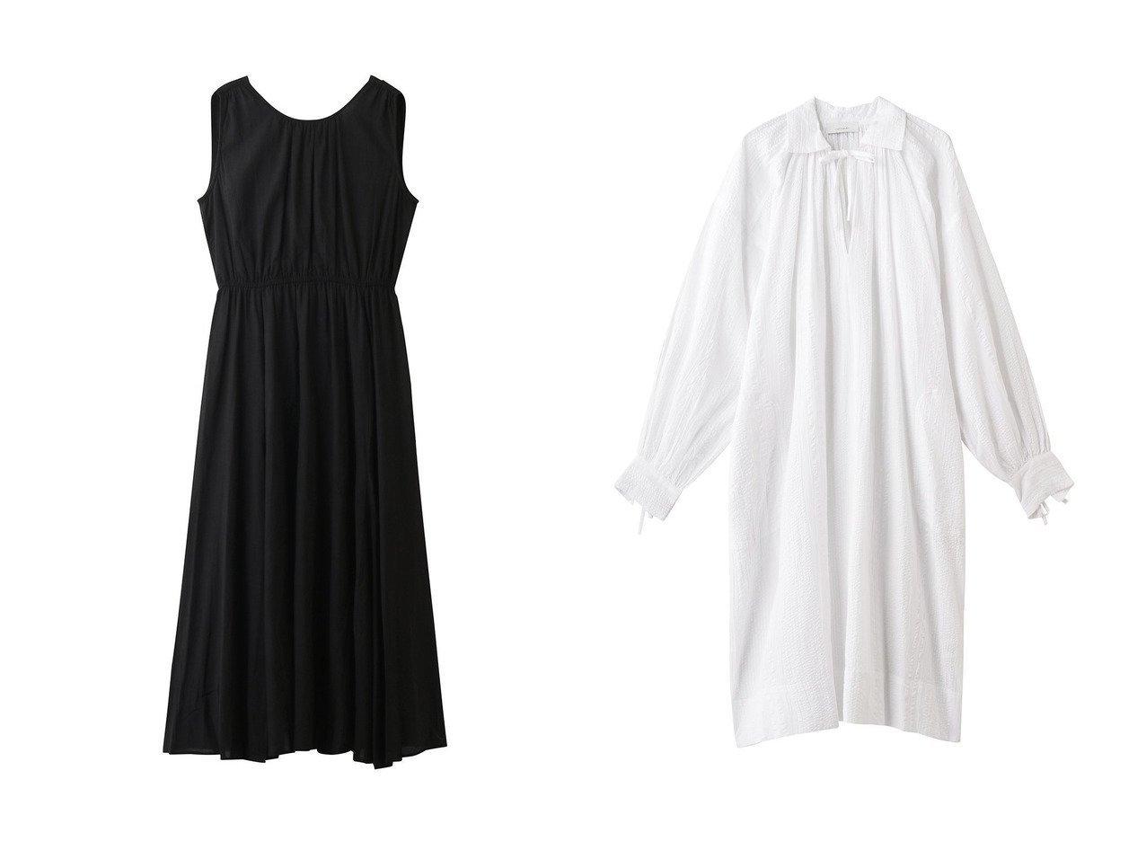 【normment/ノーメント】のVバックギャザードレス&ランダムストライプヴィンテージシェイプシャツ 【ワンピース・ドレス】おすすめ!人気、トレンド・レディースファッションの通販 おすすめで人気の流行・トレンド、ファッションの通販商品 インテリア・家具・メンズファッション・キッズファッション・レディースファッション・服の通販 founy(ファニー) https://founy.com/ ファッション Fashion レディースファッション WOMEN ワンピース Dress ドレス Party Dresses チュニック Tunic 2020年 2020 2020-2021秋冬・A/W AW・Autumn/Winter・FW・Fall-Winter/2020-2021 2021年 2021 2021-2022秋冬・A/W AW・Autumn/Winter・FW・Fall-Winter・2021-2022 A/W・秋冬 AW・Autumn/Winter・FW・Fall-Winter ギャザー チュニック ノースリーブ パーティ ストライプ スリット ビンテージ ランダム リボン  ID:crp329100000060591