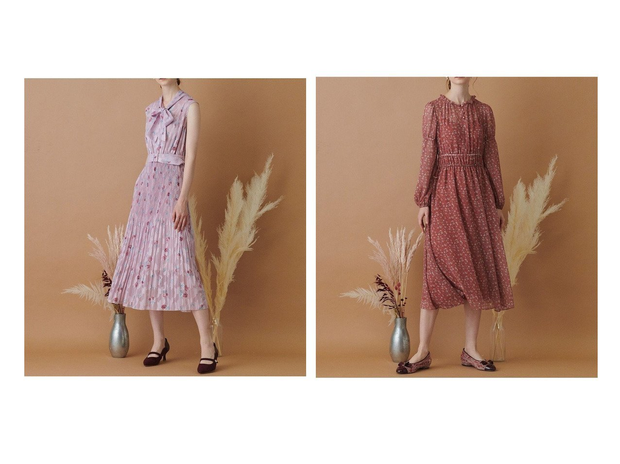 【TOCCA/トッカ】の【TOCCA LAVENDER】Pastel Flower Crepe Dress ドレス&【TOCCA LAVENDER】Rose Cut Jacquard Print Dress ドレス 【ワンピース・ドレス】おすすめ!人気、トレンド・レディースファッションの通販 おすすめで人気の流行・トレンド、ファッションの通販商品 インテリア・家具・メンズファッション・キッズファッション・レディースファッション・服の通販 founy(ファニー) https://founy.com/ ファッション Fashion レディースファッション WOMEN ワンピース Dress ドレス Party Dresses 送料無料 Free Shipping ドレス  ID:crp329100000060605