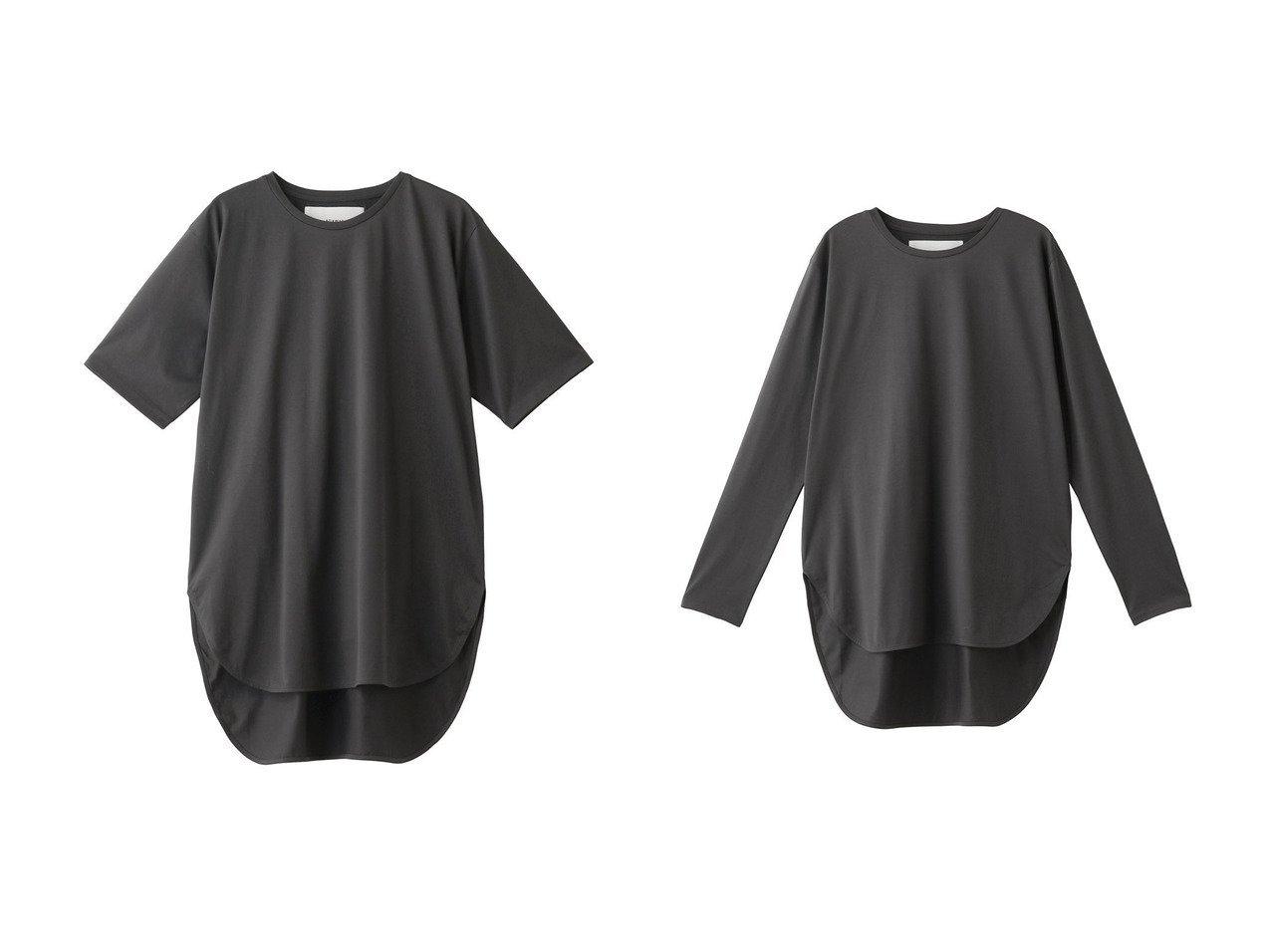 【ADAWAS/アダワス】のラウンドヘムジャージTシャツ&ロングスリーブラウンドヘムジャージーTシャツ 【トップス・カットソー】おすすめ!人気、トレンド・レディースファッションの通販 おすすめで人気の流行・トレンド、ファッションの通販商品 インテリア・家具・メンズファッション・キッズファッション・レディースファッション・服の通販 founy(ファニー) https://founy.com/ ファッション Fashion レディースファッション WOMEN トップス・カットソー Tops/Tshirt シャツ/ブラウス Shirts/Blouses ロング / Tシャツ T-Shirts カットソー Cut and Sewn 2020年 2020 2020-2021秋冬・A/W AW・Autumn/Winter・FW・Fall-Winter/2020-2021 2021年 2021 2021-2022秋冬・A/W AW・Autumn/Winter・FW・Fall-Winter・2021-2022 A/W・秋冬 AW・Autumn/Winter・FW・Fall-Winter ショート シルケット シンプル スリーブ ベーシック 半袖 定番 Standard ロング  ID:crp329100000060616