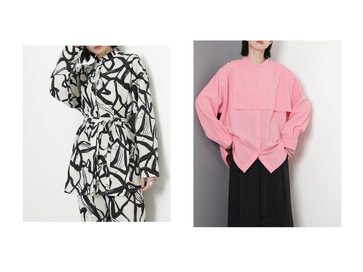 【ROSE BUD/ローズバッド】のバンドカラーシャツ&ガンフラップシャツ 【トップス・カットソー】おすすめ!人気、トレンド・レディースファッションの通販 おすすめで人気の流行・トレンド、ファッションの通販商品 インテリア・家具・メンズファッション・キッズファッション・レディースファッション・服の通販 founy(ファニー) https://founy.com/ ファッション Fashion レディースファッション WOMEN トップス・カットソー Tops/Tshirt シャツ/ブラウス Shirts/Blouses 2020年 2020 2020-2021秋冬・A/W AW・Autumn/Winter・FW・Fall-Winter/2020-2021 2021年 2021 2021-2022秋冬・A/W AW・Autumn/Winter・FW・Fall-Winter・2021-2022 A/W・秋冬 AW・Autumn/Winter・FW・Fall-Winter おすすめ Recommend カフス スリット スリーブ セットアップ チュニック プリント ロング  ID:crp329100000060619