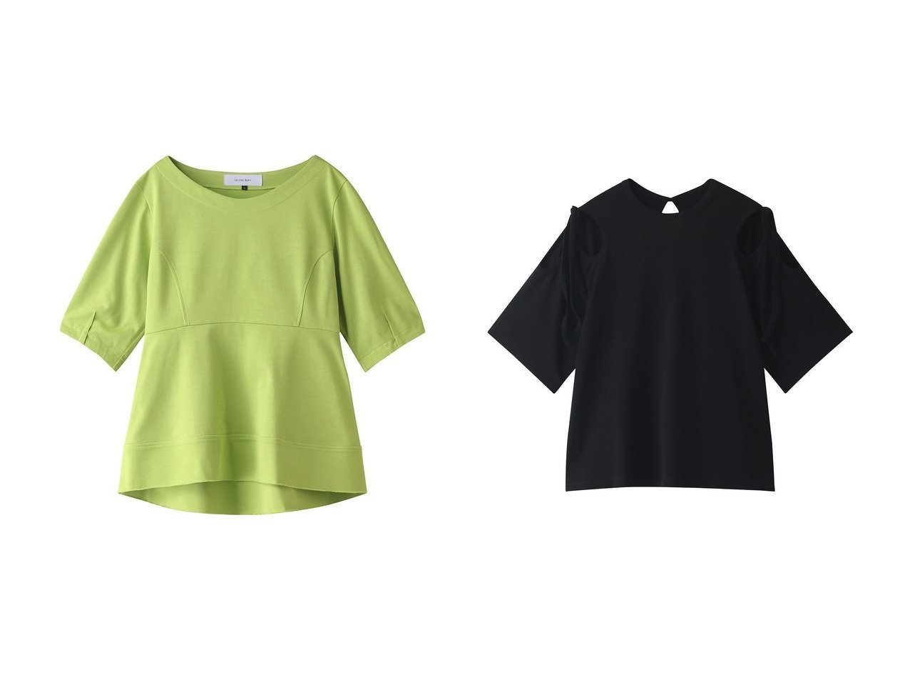 【LE CIEL BLEU/ルシェル ブルー】のボートネックペプラムTee&フラワーカットアウトTee 【トップス・カットソー】おすすめ!人気、トレンド・レディースファッションの通販 おすすめで人気の流行・トレンド、ファッションの通販商品 インテリア・家具・メンズファッション・キッズファッション・レディースファッション・服の通販 founy(ファニー) https://founy.com/ ファッション Fashion レディースファッション WOMEN トップス・カットソー Tops/Tshirt シャツ/ブラウス Shirts/Blouses ロング / Tシャツ T-Shirts カットソー Cut and Sewn 2020年 2020 2020-2021秋冬・A/W AW・Autumn/Winter・FW・Fall-Winter/2020-2021 2021年 2021 2021-2022秋冬・A/W AW・Autumn/Winter・FW・Fall-Winter・2021-2022 A/W・秋冬 AW・Autumn/Winter・FW・Fall-Winter シェイプ スリーブ フレア ペプラム ロング 半袖  ID:crp329100000060623