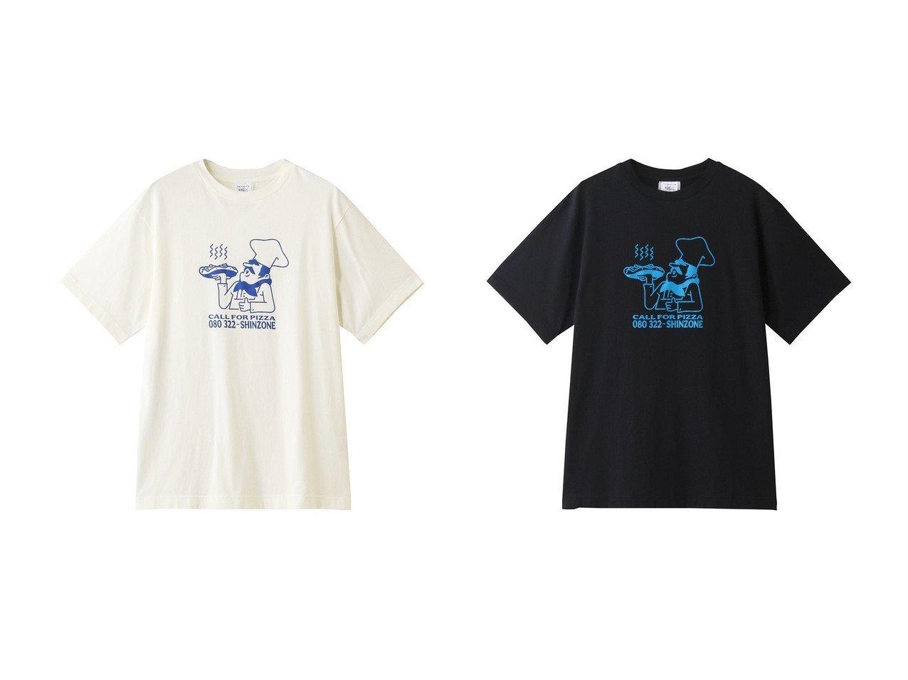 【Shinzone/シンゾーン】のPIZZA Tシャツ 【トップス・カットソー】おすすめ!人気、トレンド・レディースファッションの通販 おすすめで人気の流行・トレンド、ファッションの通販商品 インテリア・家具・メンズファッション・キッズファッション・レディースファッション・服の通販 founy(ファニー) https://founy.com/ ファッション Fashion レディースファッション WOMEN トップス・カットソー Tops/Tshirt シャツ/ブラウス Shirts/Blouses ロング / Tシャツ T-Shirts カットソー Cut and Sewn 2020年 2020 2020-2021秋冬・A/W AW・Autumn/Winter・FW・Fall-Winter/2020-2021 2021年 2021 2021-2022秋冬・A/W AW・Autumn/Winter・FW・Fall-Winter・2021-2022 A/W・秋冬 AW・Autumn/Winter・FW・Fall-Winter おすすめ Recommend イラスト ショート スリーブ フロント プリント  ID:crp329100000060624