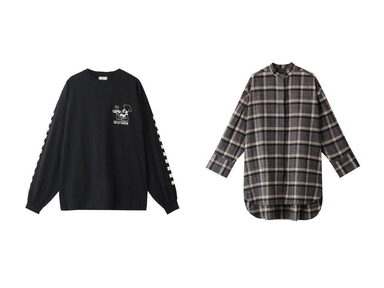 【FLORENT/フローレント】の20Sビエラチェックシャツ&【Shinzone/シンゾーン】のPIZZA ロングTシャツ 【トップス・カットソー】おすすめ!人気、トレンド・レディースファッションの通販 おすすめで人気の流行・トレンド、ファッションの通販商品 インテリア・家具・メンズファッション・キッズファッション・レディースファッション・服の通販 founy(ファニー) https://founy.com/ ファッション Fashion レディースファッション WOMEN トップス・カットソー Tops/Tshirt シャツ/ブラウス Shirts/Blouses ロング / Tシャツ T-Shirts カットソー Cut and Sewn 2020年 2020 2020-2021秋冬・A/W AW・Autumn/Winter・FW・Fall-Winter/2020-2021 2021年 2021 2021-2022秋冬・A/W AW・Autumn/Winter・FW・Fall-Winter・2021-2022 A/W・秋冬 AW・Autumn/Winter・FW・Fall-Winter スリーブ プリント モチーフ ロング  ID:crp329100000060626