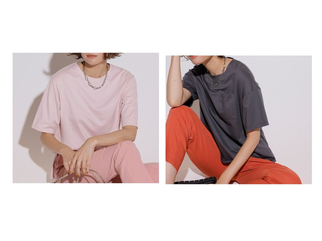 【NIJYUSANKU/23区】のコットンジャージー 5分袖 Tシャツ&コットンジャージー ポケット Tシャツ 【トップス・カットソー】おすすめ!人気、トレンド・レディースファッションの通販 おすすめで人気の流行・トレンド、ファッションの通販商品 インテリア・家具・メンズファッション・キッズファッション・レディースファッション・服の通販 founy(ファニー) https://founy.com/ ファッション Fashion レディースファッション WOMEN トップス・カットソー Tops/Tshirt シャツ/ブラウス Shirts/Blouses ロング / Tシャツ T-Shirts カットソー Cut and Sewn インナー カットソー コンパクト ジャケット ジャージー スリーブ 人気 フレンチ ボトム ポケット 半袖 リラックス 冬 Winter A/W・秋冬 AW・Autumn/Winter・FW・Fall-Winter 2021年 2021 2021-2022秋冬・A/W AW・Autumn/Winter・FW・Fall-Winter・2021-2022 送料無料 Free Shipping 夏 Summer |ID:crp329100000060680