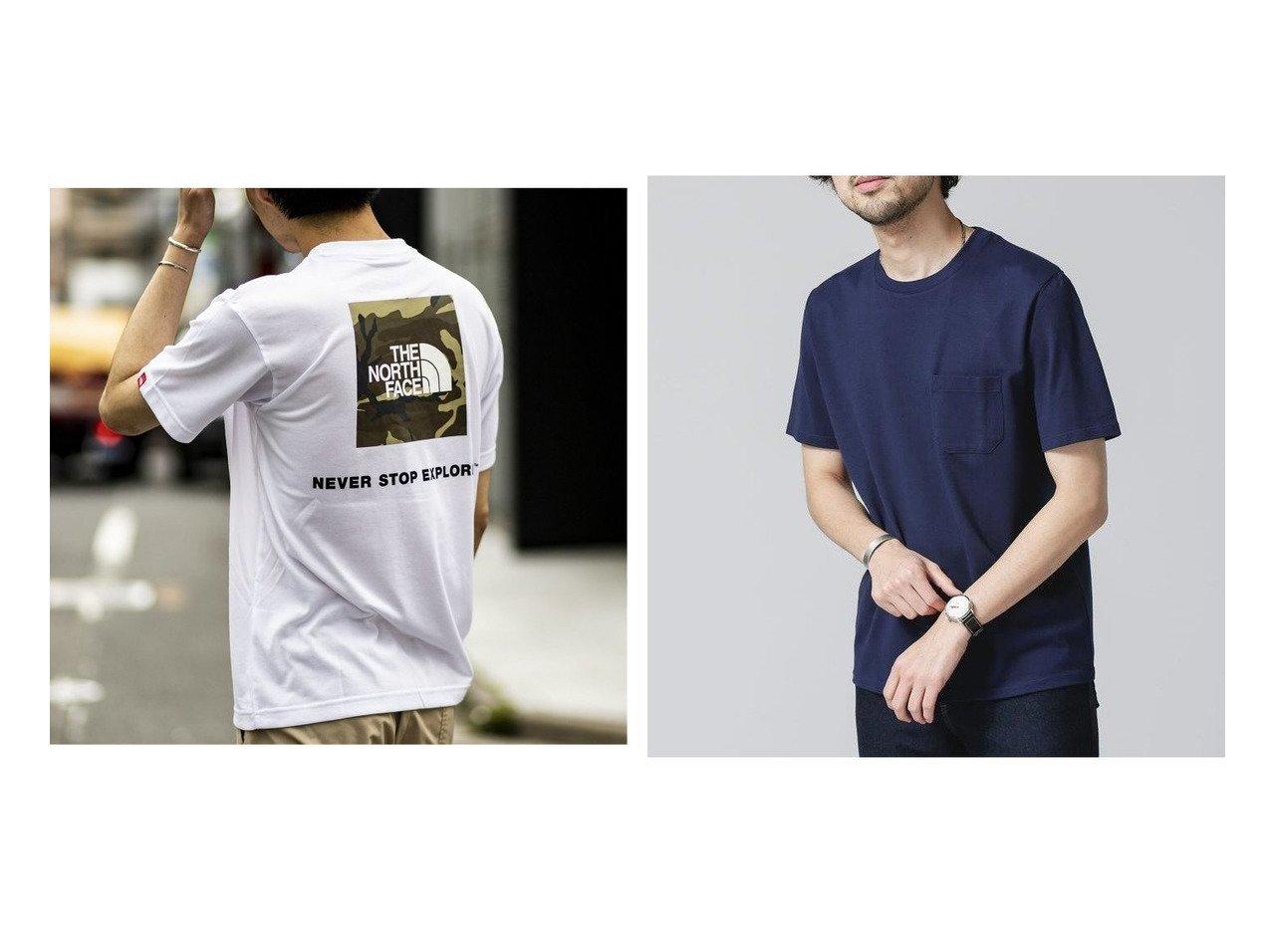 【nano universe / MEN/ナノ ユニバース】の《汗染み防止》Anti Soaked ヘビークルーネックTシャツ&【417 by EDIFICE / MEN/フォーワンセブン バイ エディフィス】の【 ザ ノースフェイス】S SQUARE CAMOFLUGE TEE 【MEN】おすすめ!人気トレンド・男性、メンズファッションの通販   おすすめで人気の流行・トレンド、ファッションの通販商品 インテリア・家具・メンズファッション・キッズファッション・レディースファッション・服の通販 founy(ファニー) https://founy.com/ ファッション Fashion メンズファッション MEN トップス・カットソー Tops/Tshirt/Men シャツ Shirts S/S・春夏 SS・Spring/Summer カリフォルニア フェイス 再入荷 Restock/Back in Stock/Re Arrival 夏 Summer  ID:crp329100000060717