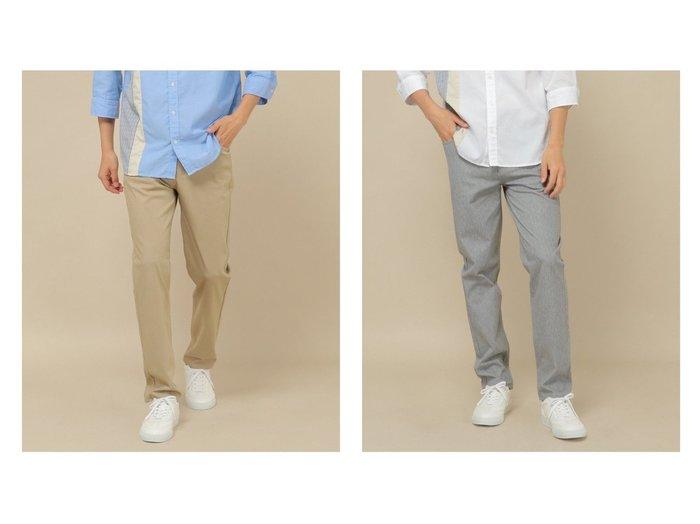 【ikka / MEN/イッカ】のEASYSTRETCH5Pパンツ 【MEN】おすすめ!人気トレンド・男性、メンズファッションの通販   おすすめ人気トレンドファッション通販アイテム 人気、トレンドファッション・服の通販 founy(ファニー)  ファッション Fashion メンズファッション MEN ボトムス Bottoms/Men ジーンズ ストレッチ |ID:crp329100000060722