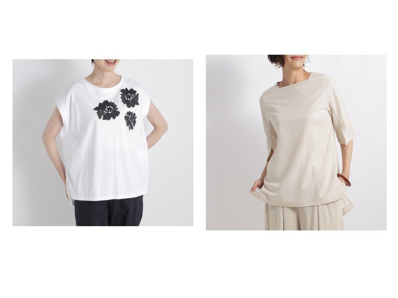 【Utao:/ウタオ】のフラワーシシュウBIGT&アセジミシニクイソデスリT おすすめ!人気、トレンド・レディースファッションの通販 おすすめで人気の流行・トレンド、ファッションの通販商品 インテリア・家具・メンズファッション・キッズファッション・レディースファッション・服の通販 founy(ファニー) https://founy.com/ ファッション Fashion レディースファッション WOMEN トップス・カットソー Tops/Tshirt シャツ/ブラウス Shirts/Blouses ロング / Tシャツ T-Shirts カットソー Cut and Sewn NEW・新作・新着・新入荷 New Arrivals カットソー シンプル スリット おすすめ Recommend フラワー |ID:crp329100000060775