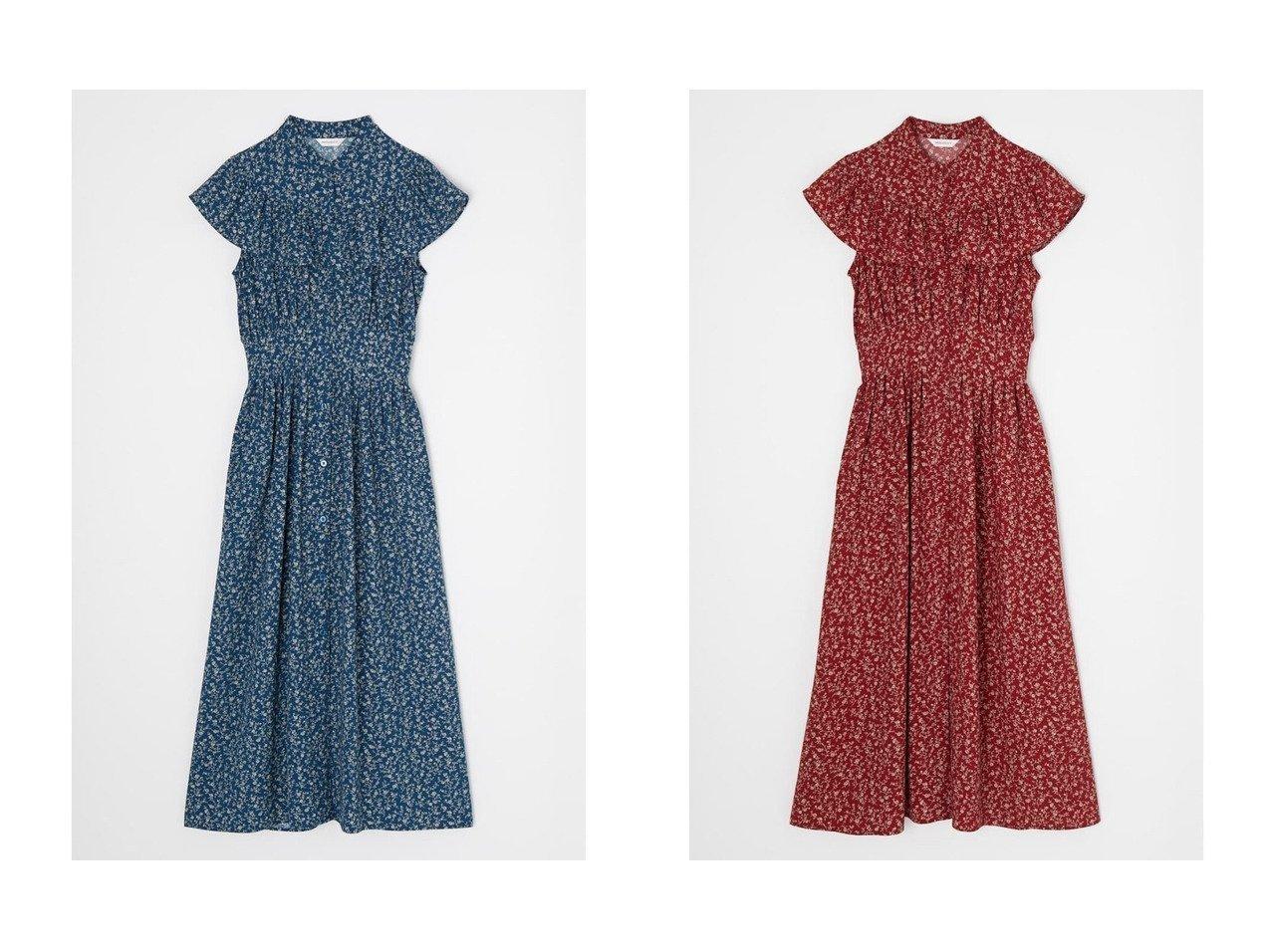 【moussy/マウジー】のWAIST TUCK RUFFLE ドレス おすすめ!人気、トレンド・レディースファッションの通販 おすすめで人気の流行・トレンド、ファッションの通販商品 インテリア・家具・メンズファッション・キッズファッション・レディースファッション・服の通販 founy(ファニー) https://founy.com/ ファッション Fashion レディースファッション WOMEN ワンピース Dress ドレス Party Dresses マキシワンピース Maxi Dress ドレス ノースリーブ フリル マキシ ラウンド ロング 秋 Autumn/Fall |ID:crp329100000060777