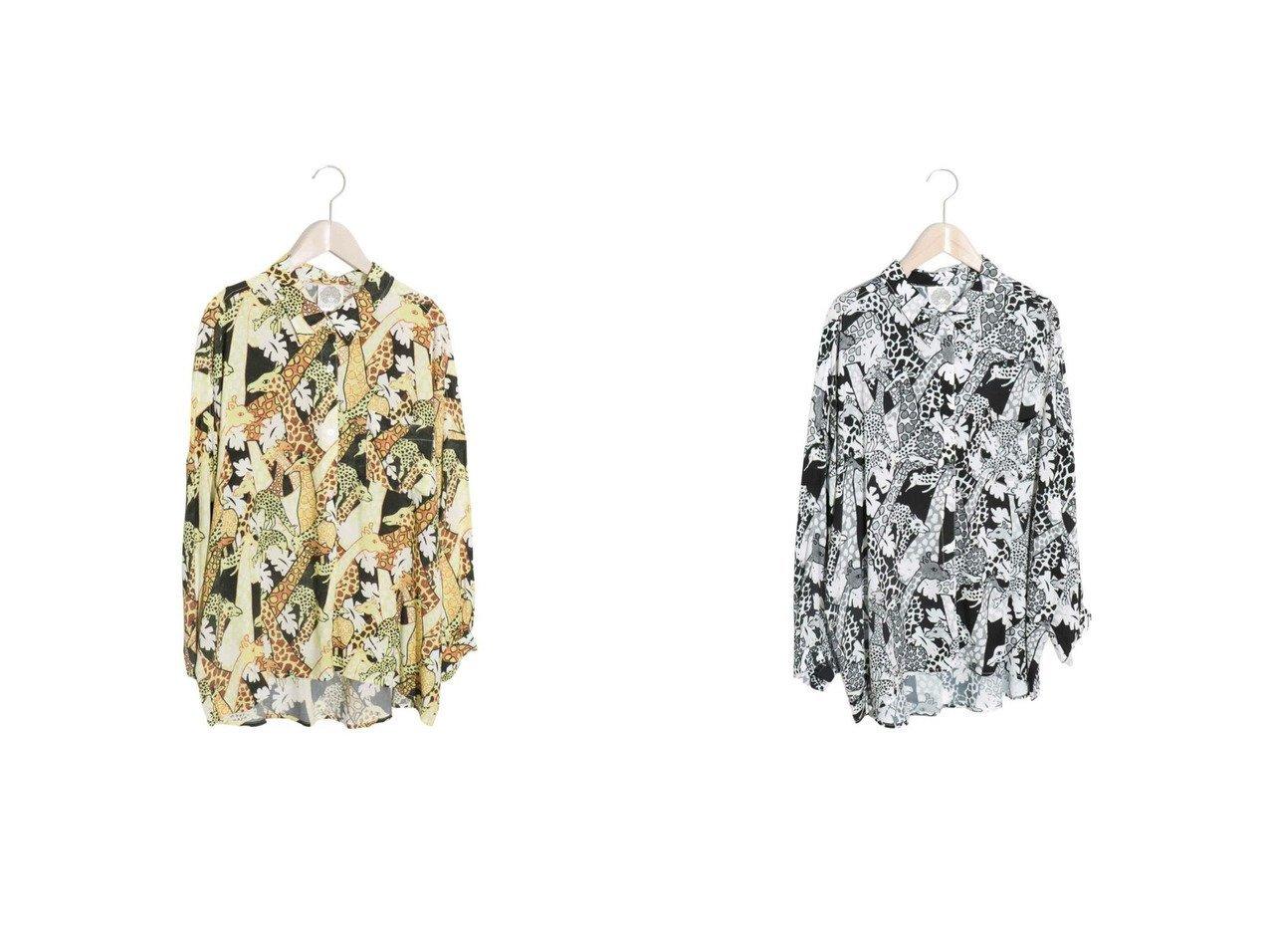 【ScoLar/スカラー】のキリン総柄シャツ おすすめ!人気、トレンド・レディースファッションの通販 おすすめで人気の流行・トレンド、ファッションの通販商品 インテリア・家具・メンズファッション・キッズファッション・レディースファッション・服の通販 founy(ファニー) https://founy.com/ ファッション Fashion レディースファッション WOMEN トップス・カットソー Tops/Tshirt シャツ/ブラウス Shirts/Blouses 2021年 2021 2021春夏・S/S SS/Spring/Summer/2021 S/S・春夏 SS・Spring/Summer シンプル ドレープ バランス ポケット リラックス 夏 Summer 春 Spring |ID:crp329100000060786
