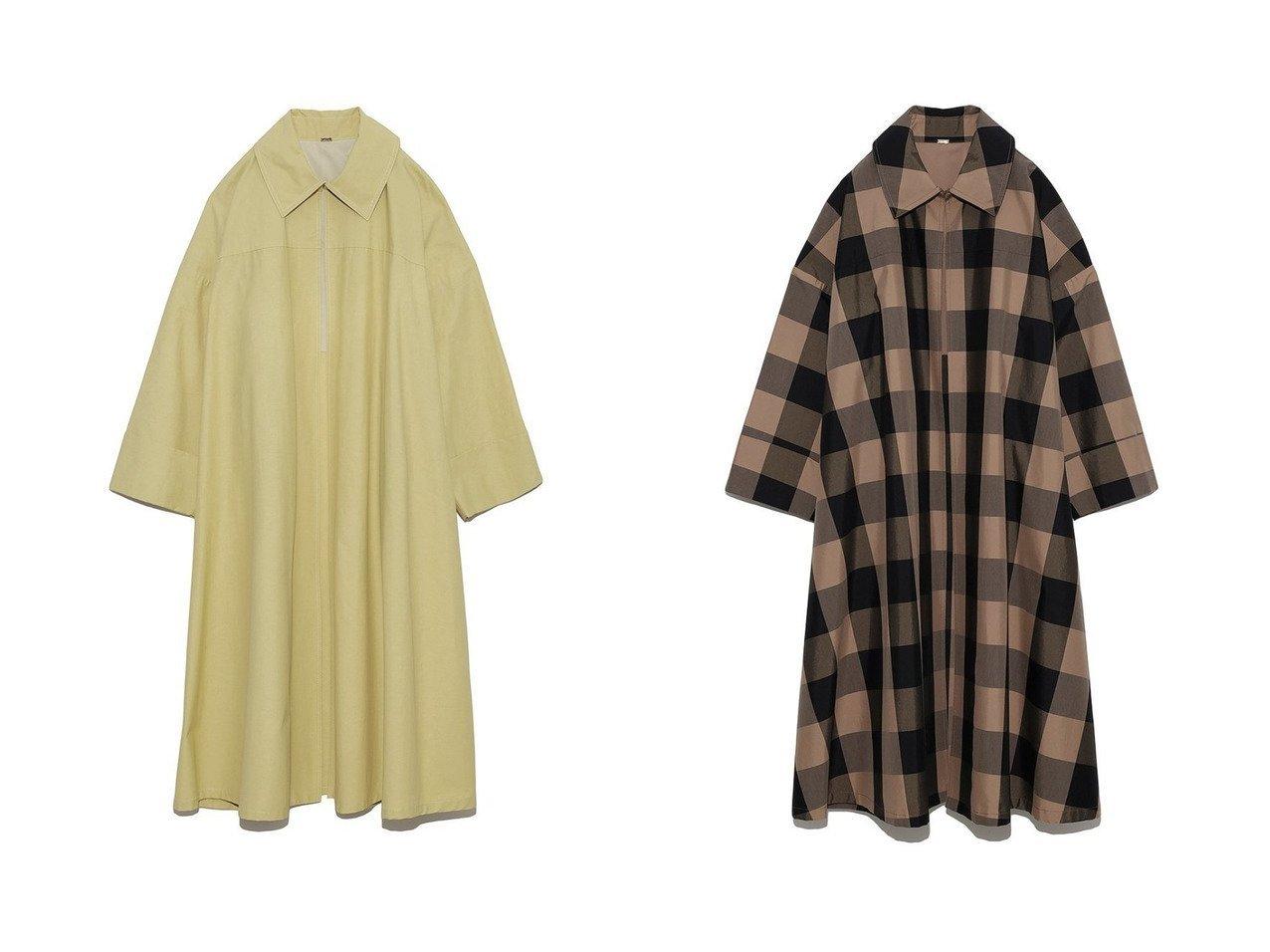 【Mila Owen/ミラオーウェン】のステンカラーケープ風オーバーコート ファッション雑誌・Webマガジン掲載、おすすめ!人気、トレンド・レディースファッションの通販 おすすめで人気の流行・トレンド、ファッションの通販商品 インテリア・家具・メンズファッション・キッズファッション・レディースファッション・服の通販 founy(ファニー) https://founy.com/ 雑誌掲載アイテム Magazine Items ファッション雑誌 Fashion Magazines ジゼル GISELe ファッション Fashion レディースファッション WOMEN アウター Coat Outerwear コート Coats 7月号 おすすめ Recommend イエロー カットソー カフス チェック トレンチ ルーズ ワイド 今季 雑誌 |ID:crp329100000060888