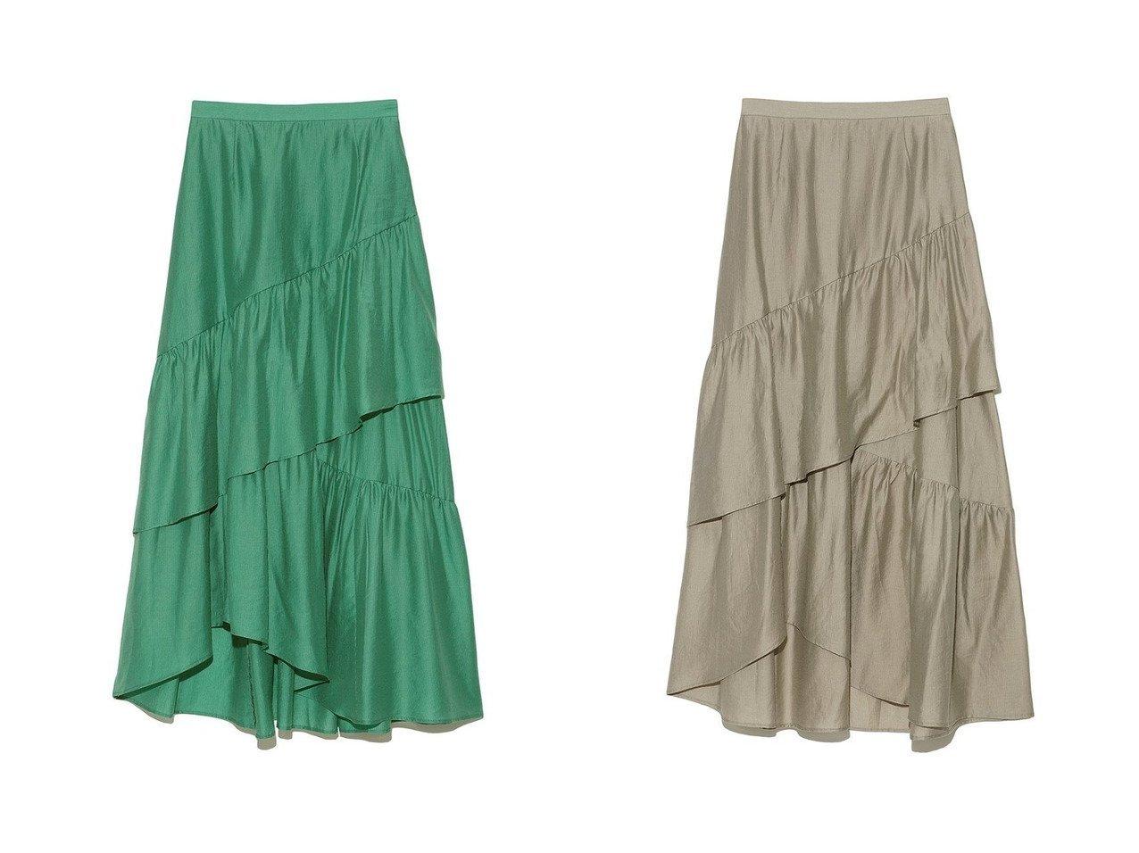 【Lily Brown/リリーブラウン】のティアードロングスカート ファッション雑誌・Webマガジン掲載、おすすめ!人気、トレンド・レディースファッションの通販 おすすめで人気の流行・トレンド、ファッションの通販商品 インテリア・家具・メンズファッション・キッズファッション・レディースファッション・服の通販 founy(ファニー) https://founy.com/ 雑誌掲載アイテム Magazine Items ファッション雑誌 Fashion Magazines ビジンヒャッカ 美人百花 ファッション Fashion レディースファッション WOMEN スカート Skirt ロングスカート Long Skirt 7月号 おすすめ Recommend イエロー カットソー サマー シンプル ティアードスカート テクスチャー トレンド ランダム ロング 夏 Summer 秋 Autumn/Fall 雑誌 |ID:crp329100000060896