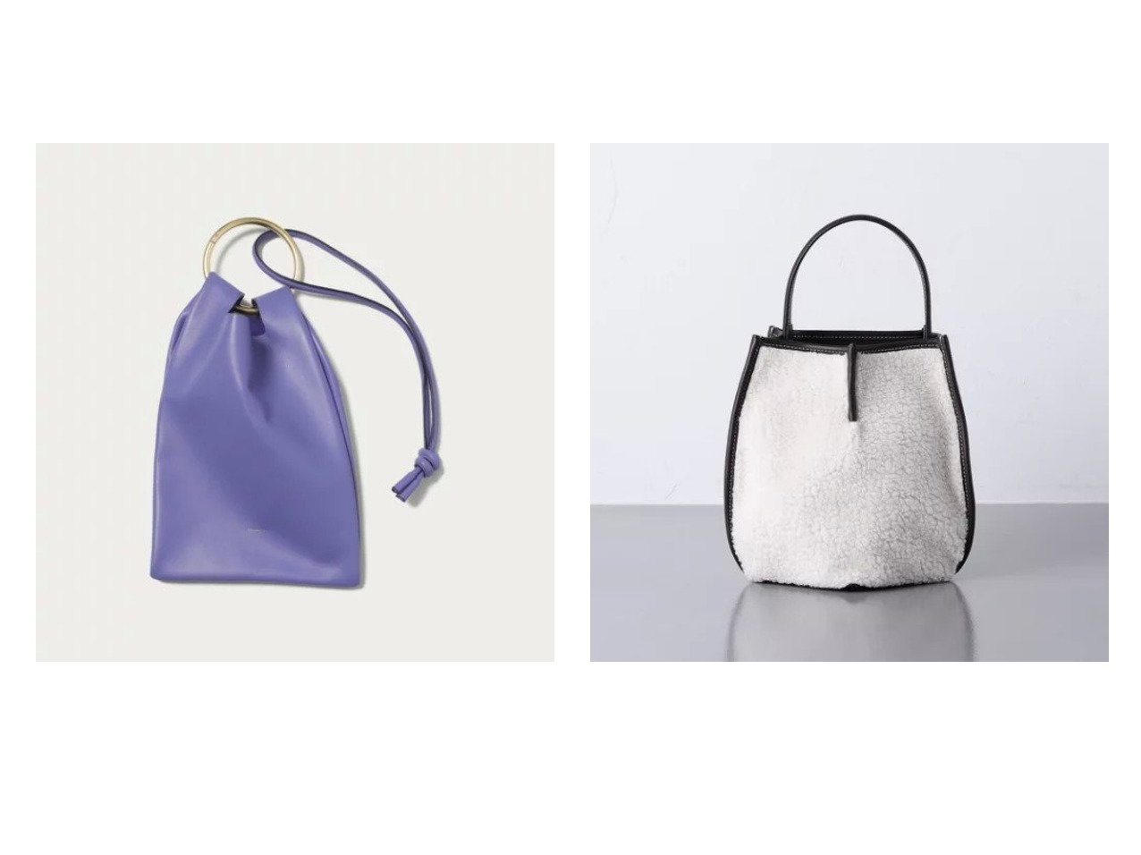 【UNITED ARROWS/ユナイテッドアローズ】の【別注】PENTA ボア ショルダーバッグ&【Odette e Odile/オデット エ オディール】の【一部別注】 MORBIDO bag2 別注・限定・コラボなど、おすすめ!人気、トレンド・レディースファッションの通販 おすすめで人気の流行・トレンド、ファッションの通販商品 インテリア・家具・メンズファッション・キッズファッション・レディースファッション・服の通販 founy(ファニー) https://founy.com/ ファッション Fashion レディースファッション WOMEN バッグ Bag おすすめ Recommend コンパクト シンプル パープル フォルム ラップ 別注 |ID:crp329100000060908