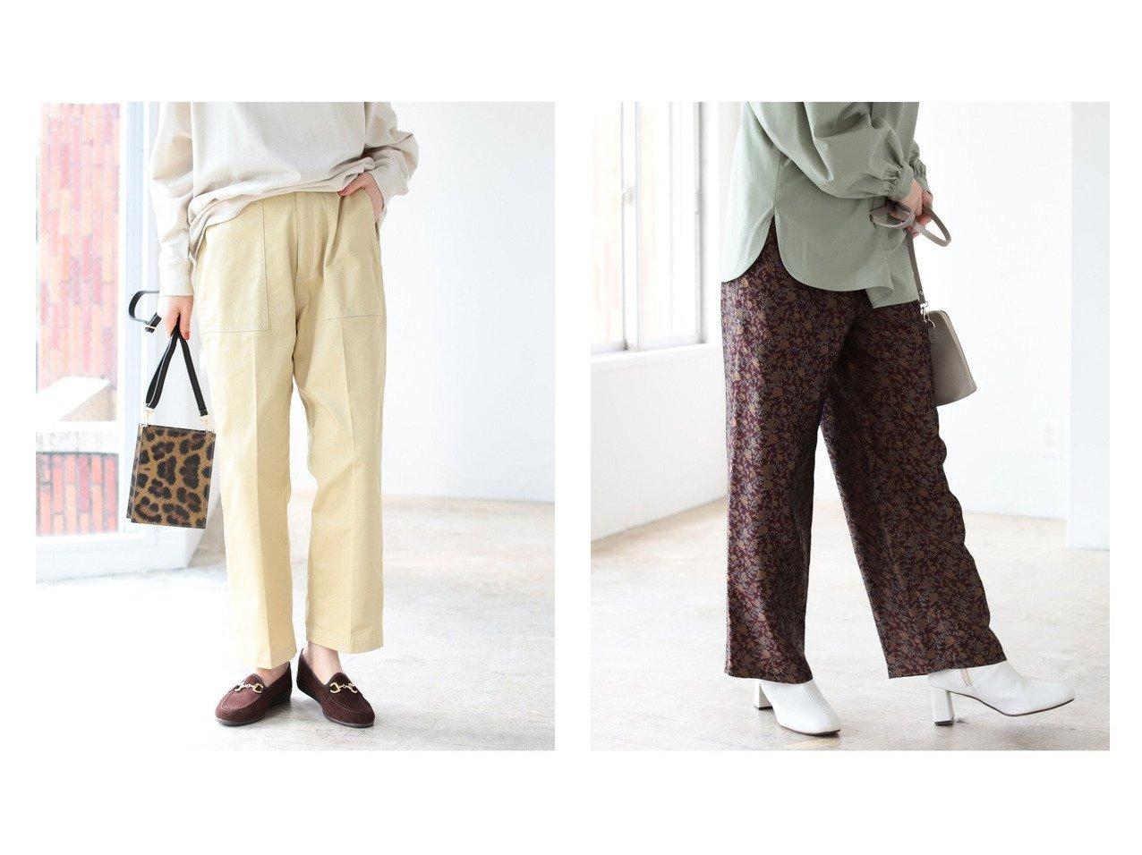 【B:MING by BEAMS/ビーミング by ビームス】の別注 ベイカーパンツ 21AW&ジャガード パンツ 21AW 別注・限定・コラボなど、おすすめ!人気、トレンド・レディースファッションの通販 おすすめで人気の流行・トレンド、ファッションの通販商品 インテリア・家具・メンズファッション・キッズファッション・レディースファッション・服の通販 founy(ファニー) https://founy.com/ ファッション Fashion レディースファッション WOMEN パンツ Pants オレンジ シンプル ジーンズ スペシャル センター トレンド 別注 ワイド ワーク A/W・秋冬 AW・Autumn/Winter・FW・Fall-Winter 2021年 2021 2021-2022秋冬・A/W AW・Autumn/Winter・FW・Fall-Winter・2021-2022 ストレート フラワー ペイズリー ポケット |ID:crp329100000060917