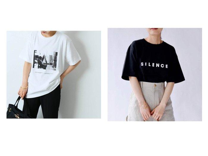 【journal standard L'essage/ジャーナルスタンダード レサージュ】のPOET MEETS DUBWISE別注PHOTO 2 Tシャツ 2&POET MEETS DUBWISE別注SILENCE Tシャツ 2 別注・限定・コラボなど、おすすめ!人気、トレンド・レディースファッションの通販 おすすめ人気トレンドファッション通販アイテム 人気、トレンドファッション・服の通販 founy(ファニー) ファッション Fashion レディースファッション WOMEN トップス・カットソー Tops/Tshirt シャツ/ブラウス Shirts/Blouses ロング / Tシャツ T-Shirts カットソー Cut and Sewn NEW・新作・新着・新入荷 New Arrivals 2021年 2021 2021春夏・S/S SS/Spring/Summer/2021 S/S・春夏 SS・Spring/Summer カットソー 別注  ID:crp329100000060979
