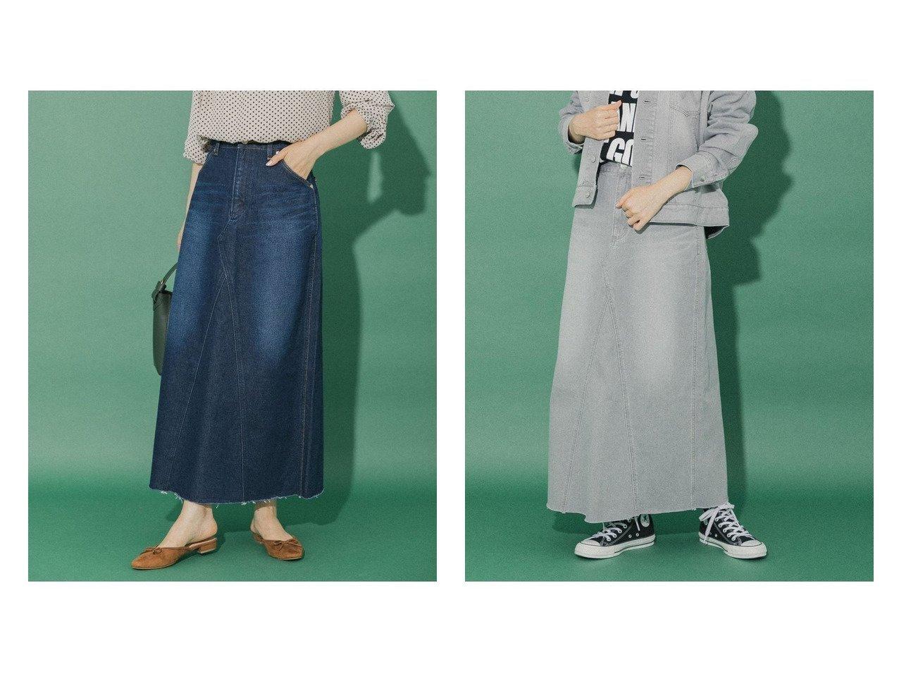 【Sonny Label / URBAN RESEARCH/サニーレーベル】の【別注】WranglerSonny Label リメイクデニムスカート 別注・限定・コラボなど、おすすめ!人気、トレンド・レディースファッションの通販 おすすめで人気の流行・トレンド、ファッションの通販商品 インテリア・家具・メンズファッション・キッズファッション・レディースファッション・服の通販 founy(ファニー) https://founy.com/ ファッション Fashion レディースファッション WOMEN スカート Skirt デニムスカート Denim Skirts カットオフ ジーンズ スペシャル セットアップ デニム 定番 Standard 人気 フレア 別注 リメイク ワーク NEW・新作・新着・新入荷 New Arrivals |ID:crp329100000060993