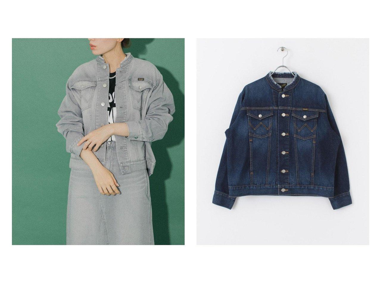【Sonny Label / URBAN RESEARCH/サニーレーベル】の【別注】WranglerSonny Label カットオフデニムジャケット 別注・限定・コラボなど、おすすめ!人気、トレンド・レディースファッションの通販 おすすめで人気の流行・トレンド、ファッションの通販商品 インテリア・家具・メンズファッション・キッズファッション・レディースファッション・服の通販 founy(ファニー) https://founy.com/ ファッション Fashion レディースファッション WOMEN アウター Coat Outerwear コート Coats ジャケット Jackets デニムジャケット Denim Jackets カットオフ ジャケット ジーンズ スペシャル セットアップ デニム 定番 Standard 人気 別注 メンズ ワーク 再入荷 Restock/Back in Stock/Re Arrival NEW・新作・新着・新入荷 New Arrivals |ID:crp329100000060994