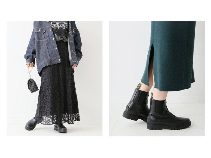 【FRAMeWORK/フレームワーク】の【ne Quittez pas】 別注リーフ柄レーススカート&【Tuffa Boots】別注フロントジップブーツ 別注・限定・コラボなど、おすすめ!人気、トレンド・レディースファッションの通販 おすすめ人気トレンドファッション通販アイテム 人気、トレンドファッション・服の通販 founy(ファニー) ファッション Fashion レディースファッション WOMEN スカート Skirt ロングスカート Long Skirt インド スウェット 人気 フレーム 別注 マーメイド リーフ レース ロング ワーク A/W・秋冬 AW・Autumn/Winter・FW・Fall-Winter 2021年 2021 2021-2022秋冬・A/W AW・Autumn/Winter・FW・Fall-Winter・2021-2022 NEW・新作・新着・新入荷 New Arrivals おすすめ Recommend シューズ ショート シンプル ジップ フィット フォルム 再入荷 Restock/Back in Stock/Re Arrival プチプライス・低価格 Affordable |ID:crp329100000061007