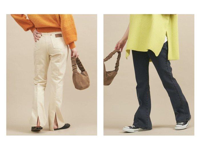 【BEAUTY&YOUTH / UNITED ARROWS/ビューティ&ユース ユナイテッドアローズ】の【別注】 Wrangler バックスリットデニムパンツ 別注・限定・コラボなど、おすすめ!人気、トレンド・レディースファッションの通販 おすすめ人気トレンドファッション通販アイテム 人気、トレンドファッション・服の通販 founy(ファニー) ファッション Fashion レディースファッション WOMEN パンツ Pants デニムパンツ Denim Pants バッグ Bag ウエスタン 春 Spring ジーンズ スマート スリット セットアップ デニム トレンド 定番 Standard 人気 パッチ ベスト ポケット 別注 A/W・秋冬 AW・Autumn/Winter・FW・Fall-Winter S/S・春夏 SS・Spring/Summer おすすめ Recommend 夏 Summer |ID:crp329100000061019