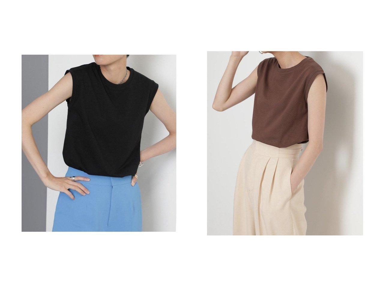 【ROSE BUD/ローズバッド】のブラウン,オレンジのみ別注カラー ノースリーブカッ 別注・限定・コラボなど、おすすめ!人気、トレンド・レディースファッションの通販 おすすめで人気の流行・トレンド、ファッションの通販商品 インテリア・家具・メンズファッション・キッズファッション・レディースファッション・服の通販 founy(ファニー) https://founy.com/ ファッション Fashion レディースファッション WOMEN トップス・カットソー Tops/Tshirt キャミソール / ノースリーブ No Sleeves シャツ/ブラウス Shirts/Blouses ロング / Tシャツ T-Shirts カットソー Cut and Sewn オレンジ カットソー タンク ノースリーブ リラックス 別注 夏 Summer 定番 Standard |ID:crp329100000061036