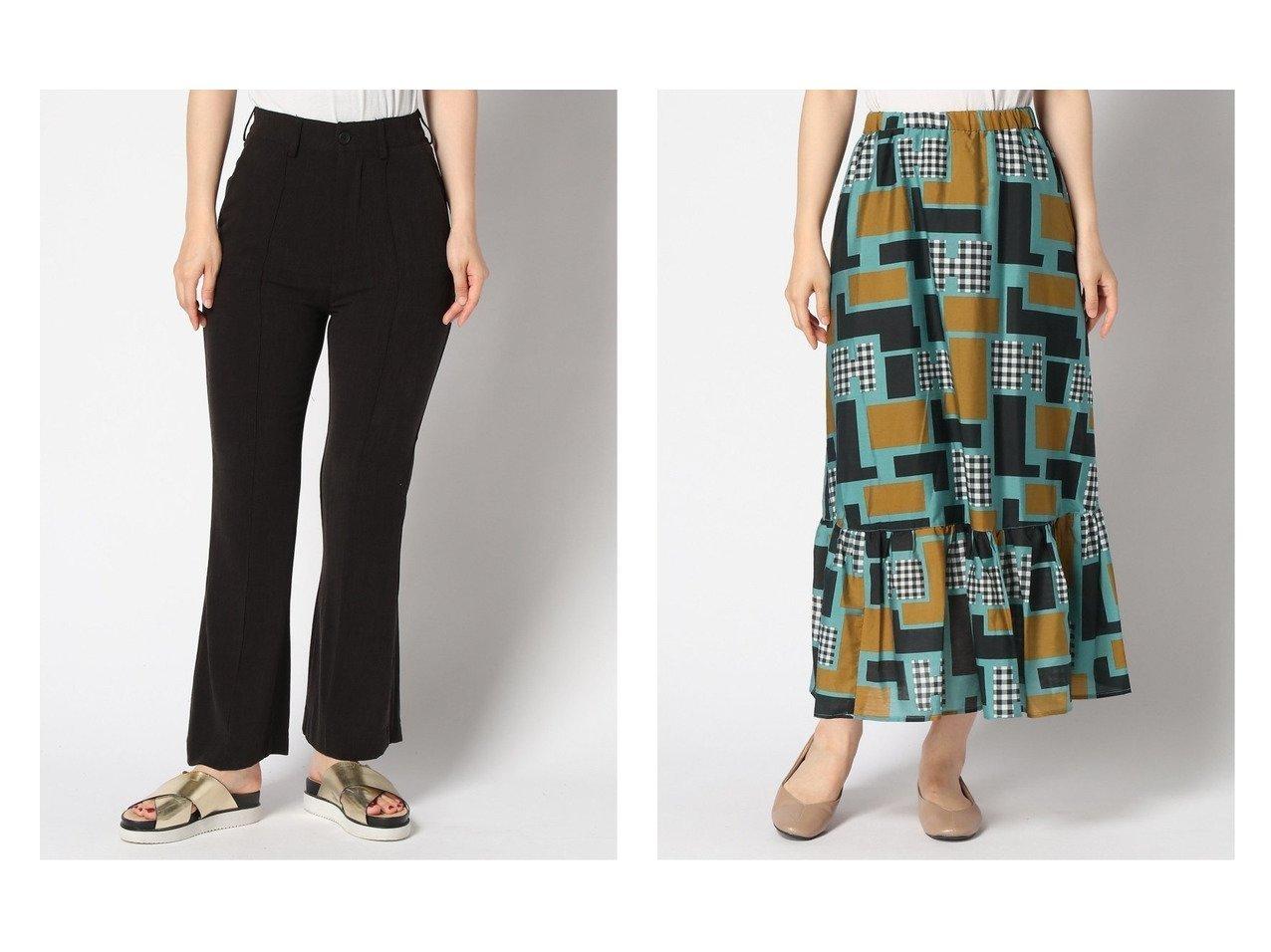 【LOWRYS FARM/ローリーズファーム】のティアードスカート&【JEANASiS/ジーナシス】のJQバックスリットフレアP おすすめ!人気、トレンド・レディースファッションの通販 おすすめで人気の流行・トレンド、ファッションの通販商品 インテリア・家具・メンズファッション・キッズファッション・レディースファッション・服の通販 founy(ファニー) https://founy.com/ ファッション Fashion レディースファッション WOMEN パンツ Pants バッグ Bag スカート Skirt ティアードスカート Tiered Skirts NEW・新作・新着・新入荷 New Arrivals ジーンズ ティアードスカート  ID:crp329100000061045