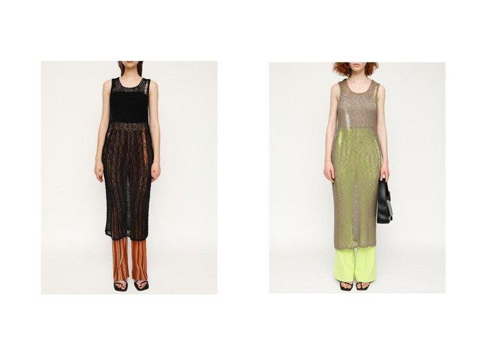 【SLY/スライ】のCRASH SLAB MESH トップス おすすめ!人気、トレンド・レディースファッションの通販 おすすめ人気トレンドファッション通販アイテム インテリア・キッズ・メンズ・レディースファッション・服の通販 founy(ファニー) https://founy.com/ ファッション Fashion レディースファッション WOMEN トップス・カットソー Tops/Tshirt シャツ/ブラウス Shirts/Blouses ロング / Tシャツ T-Shirts カットソー Cut and Sewn おすすめ Recommend インナー クラッシュ ダメージ 夏 Summer |ID:crp329100000061059