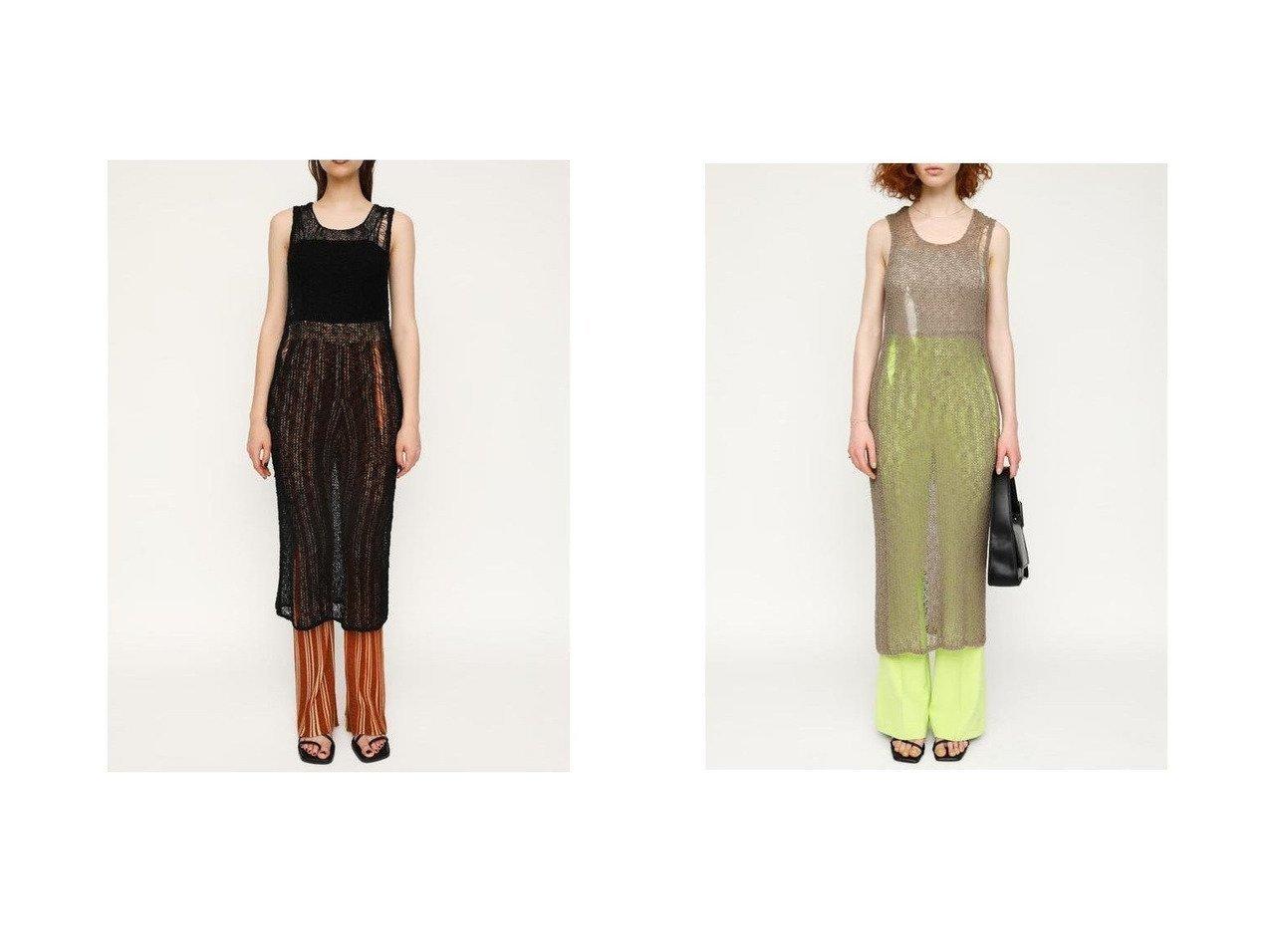 【SLY/スライ】のCRASH SLAB MESH トップス おすすめ!人気、トレンド・レディースファッションの通販 おすすめで人気の流行・トレンド、ファッションの通販商品 インテリア・家具・メンズファッション・キッズファッション・レディースファッション・服の通販 founy(ファニー) https://founy.com/ ファッション Fashion レディースファッション WOMEN トップス・カットソー Tops/Tshirt シャツ/ブラウス Shirts/Blouses ロング / Tシャツ T-Shirts カットソー Cut and Sewn おすすめ Recommend インナー クラッシュ ダメージ 夏 Summer  ID:crp329100000061059