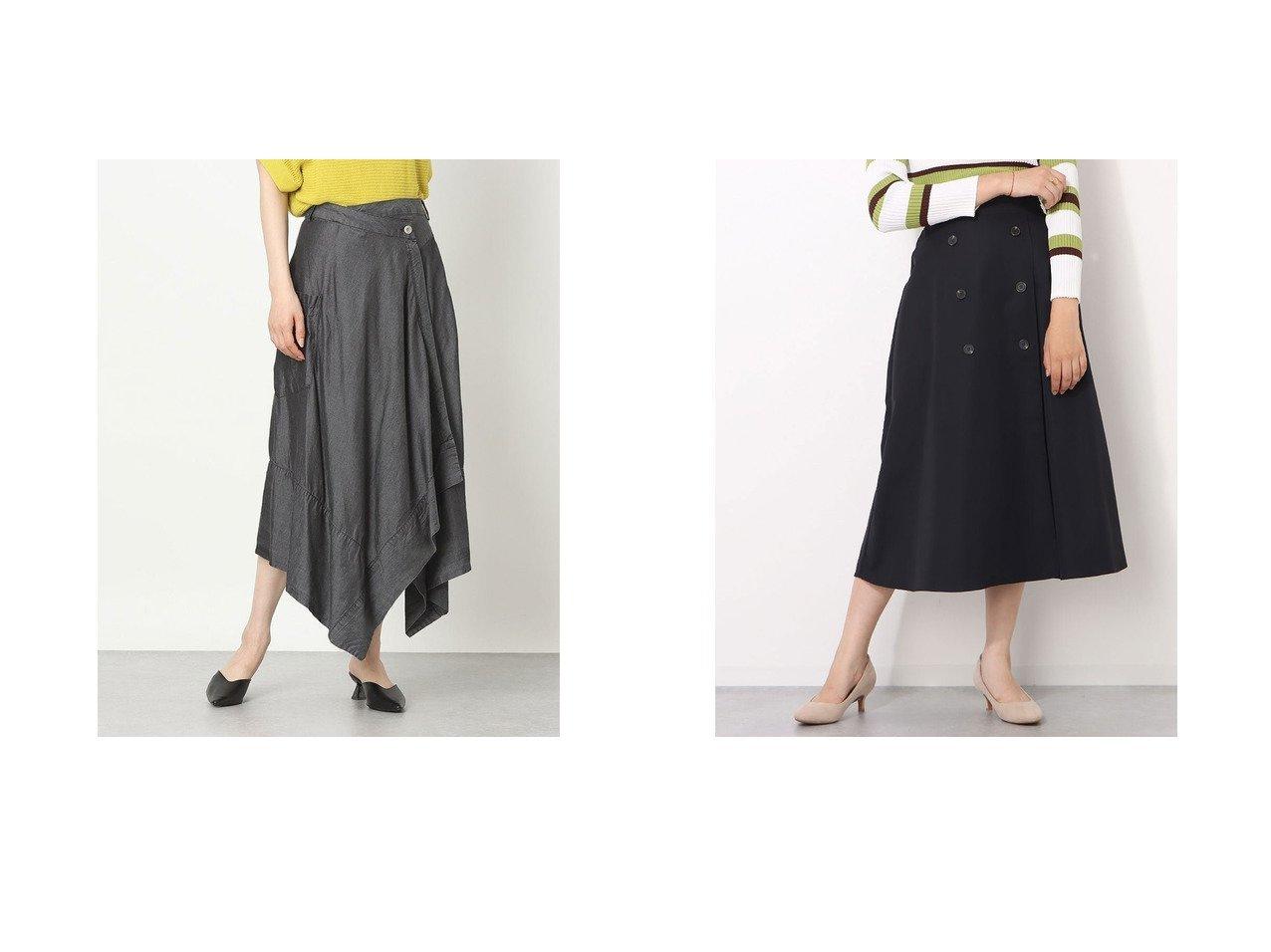 【Rename/リネーム】のラップデザイン無地フレアスカート&フロントボタン付きスカート おすすめ!人気、トレンド・レディースファッションの通販 おすすめで人気の流行・トレンド、ファッションの通販商品 インテリア・家具・メンズファッション・キッズファッション・レディースファッション・服の通販 founy(ファニー) https://founy.com/ ファッション Fashion レディースファッション WOMEN スカート Skirt Aライン/フレアスカート Flared A-Line Skirts 2021年 2021 2021春夏・S/S SS/Spring/Summer/2021 S/S・春夏 SS・Spring/Summer アシンメトリー シンプル スタイリッシュ フレア ラップ 夏 Summer 春 Spring 無地 ダブル フロント  ID:crp329100000061062