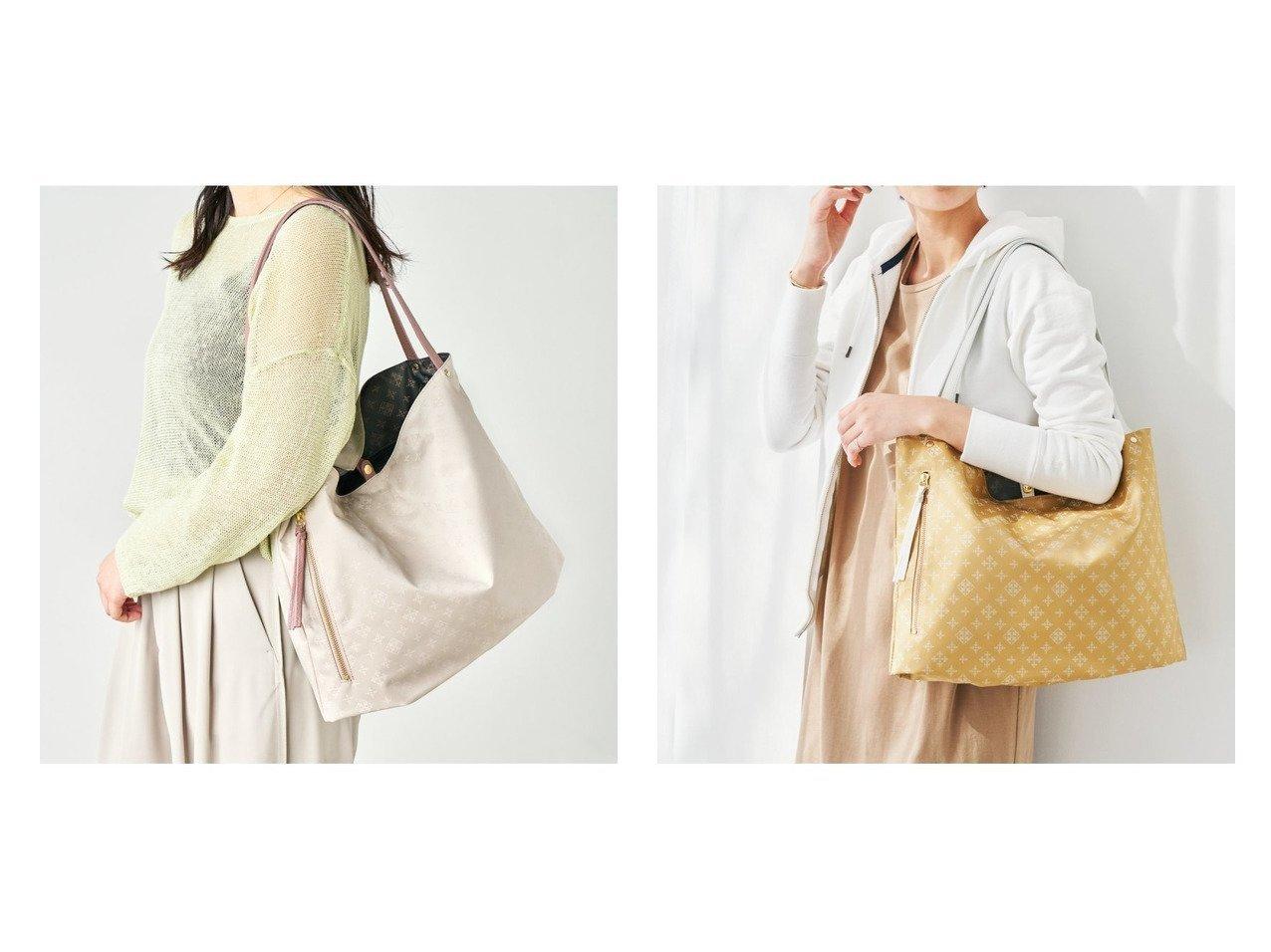【russet/ラシット】の両面使えるリバーシブルトートバッグ(CE-813) おすすめ!人気、トレンド・レディースファッションの通販 おすすめで人気の流行・トレンド、ファッションの通販商品 インテリア・家具・メンズファッション・キッズファッション・レディースファッション・服の通販 founy(ファニー) https://founy.com/ ファッション Fashion レディースファッション WOMEN バッグ Bag イエロー 軽量 シンプル パターン ベーシック ポケット リバーシブル おすすめ Recommend 日本製 Made in Japan  ID:crp329100000061068