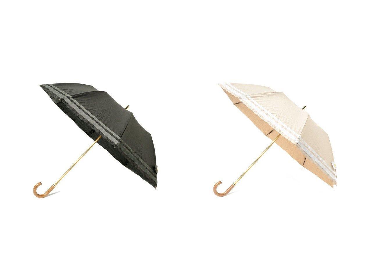 【Demi-Luxe BEAMS/デミルクス ビームス】のボーダー 折りたたみ傘 おすすめ!人気、トレンド・レディースファッションの通販 おすすめで人気の流行・トレンド、ファッションの通販商品 インテリア・家具・メンズファッション・キッズファッション・レディースファッション・服の通販 founy(ファニー) https://founy.com/ ファッション Fashion レディースファッション WOMEN 傘 / レイングッズ Umbrellas/Rainwear エレガント ニューヨーク ボーダー 傘 帽子 |ID:crp329100000061085