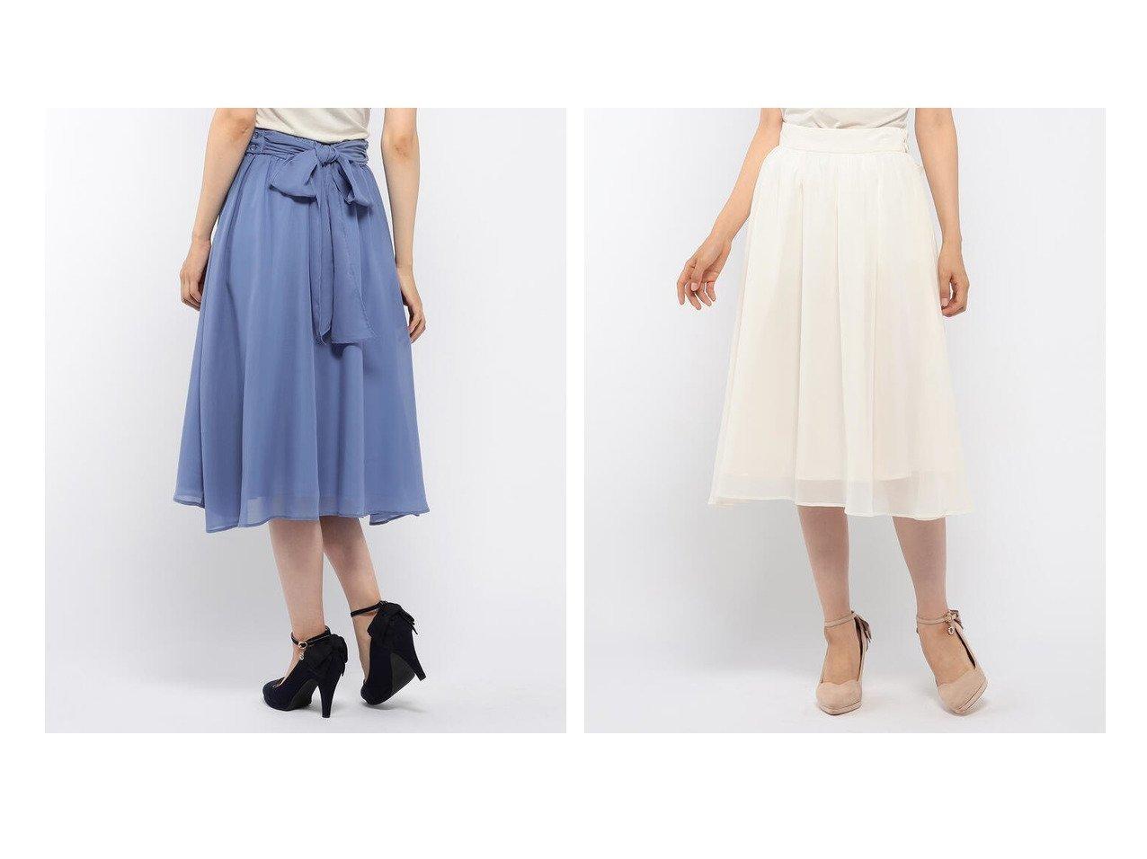 【MISCH MASCH/ミッシュマッシュ】のリボン取り外しフレアスカート おすすめ!人気、トレンド・レディースファッションの通販 おすすめで人気の流行・トレンド、ファッションの通販商品 インテリア・家具・メンズファッション・キッズファッション・レディースファッション・服の通販 founy(ファニー) https://founy.com/ ファッション Fashion レディースファッション WOMEN スカート Skirt Aライン/フレアスカート Flared A-Line Skirts ギャザー シンプル フレア リボン |ID:crp329100000061099