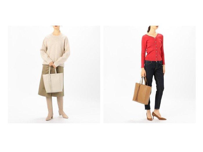 【TOMORROWLAND GOODs/トゥモローランド グッズ】のCHRISTIAN VILLA スムースレザー ハンドバッグ 【バッグ・鞄】おすすめ!人気、トレンド・レディースファッションの通販 おすすめ人気トレンドファッション通販アイテム 人気、トレンドファッション・服の通販 founy(ファニー) ファッション Fashion レディースファッション WOMEN バッグ Bag 2020年 2020 2020-2021秋冬・A/W AW・Autumn/Winter・FW・Fall-Winter/2020-2021 A/W・秋冬 AW・Autumn/Winter・FW・Fall-Winter イタリア シンプル スタッズ ハンドバッグ ミラノ ラップ |ID:crp329100000061152