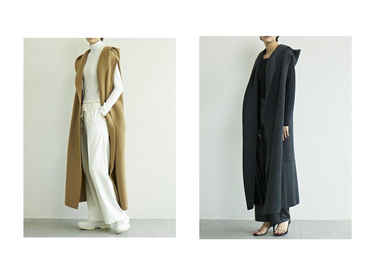 【GALLARDAGALANTE/ガリャルダガランテ】の【ADAWAS】別注フードガウンロングベスト 【アウター】おすすめ!人気、トレンド・レディースファッションの通販 おすすめで人気の流行・トレンド、ファッションの通販商品 インテリア・家具・メンズファッション・キッズファッション・レディースファッション・服の通販 founy(ファニー) https://founy.com/ ファッション Fashion レディースファッション WOMEN アウター Coat Outerwear ジャケット Jackets 2020年 2020 2020-2021秋冬・A/W AW・Autumn/Winter・FW・Fall-Winter/2020-2021 2021年 2021 2021-2022秋冬・A/W AW・Autumn/Winter・FW・Fall-Winter・2021-2022 A/W・秋冬 AW・Autumn/Winter・FW・Fall-Winter おすすめ Recommend ガウン シンプル ジャケット スウェット フロント ベスト リラックス ロング ワイド 別注 |ID:crp329100000061164