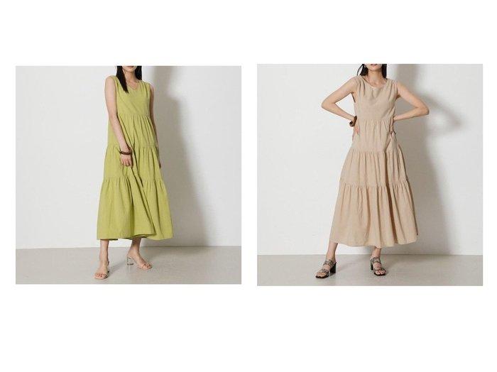 【AZUL by moussy/アズール バイ マウジー】の2WAY TIERED LONG ONEPIECE 【ワンピース・ドレス】おすすめ!人気、トレンド・レディースファッションの通販 おすすめ人気トレンドファッション通販アイテム 人気、トレンドファッション・服の通販 founy(ファニー)  ファッション Fashion レディースファッション WOMEN ワンピース Dress 2021年 2021 2021-2022秋冬・A/W AW・Autumn/Winter・FW・Fall-Winter・2021-2022 A/W・秋冬 AW・Autumn/Winter・FW・Fall-Winter サンダル リラックス 夏 Summer  ID:crp329100000061193