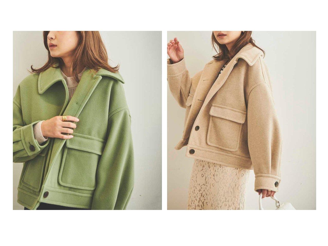 【FREE'S MART/フリーズマート】の《Sシリーズ対応商品》TRメルトンドロップルーズブルゾン おすすめ!人気、トレンド・レディースファッションの通販 おすすめで人気の流行・トレンド、ファッションの通販商品 インテリア・家具・メンズファッション・キッズファッション・レディースファッション・服の通販 founy(ファニー) https://founy.com/ ファッション Fashion レディースファッション WOMEN アウター Coat Outerwear ブルゾン Blouson/Jackets ショルダー セットアップ ドロップ フォルム ミニスカート メルトン 切替 |ID:crp329100000061207