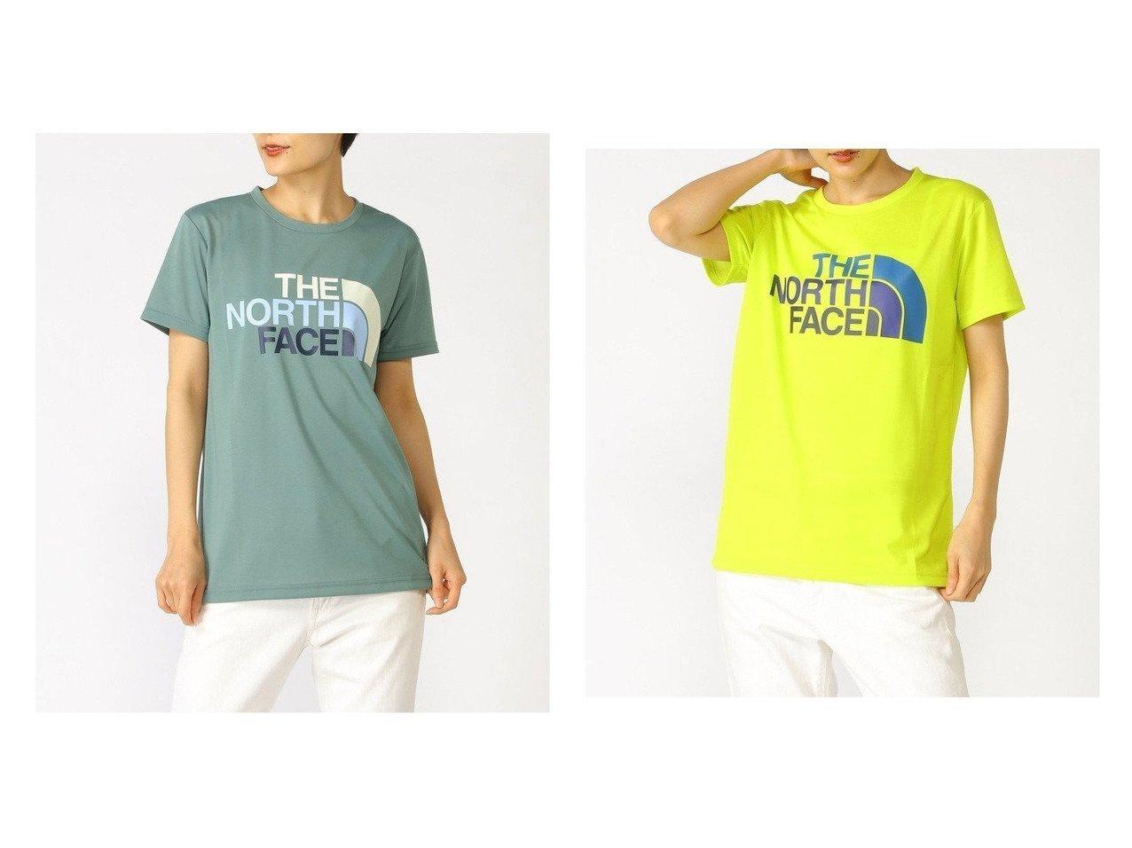 【KOJITUSANSO/好日山荘】のザノースフェースS Colorful Logo Tee おすすめ!人気、トレンド・レディースファッションの通販 おすすめで人気の流行・トレンド、ファッションの通販商品 インテリア・家具・メンズファッション・キッズファッション・レディースファッション・服の通販 founy(ファニー) https://founy.com/ ファッション Fashion レディースファッション WOMEN トップス・カットソー Tops/Tshirt シャツ/ブラウス Shirts/Blouses ロング / Tシャツ T-Shirts カットソー Cut and Sewn S/S・春夏 SS・Spring/Summer カットソー グラデーション グラフィック ミックス 夏 Summer  ID:crp329100000061256