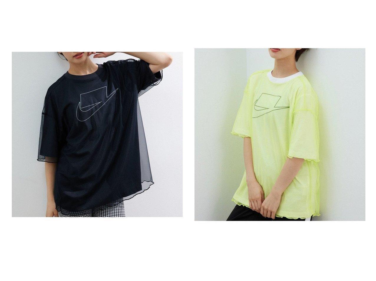 【NIKE/ナイキ】の【NIKE】ナイキ スポーツウェア チュール ショートスリーブTシャツ ウィメンズ おすすめ!人気、トレンド・レディースファッションの通販 おすすめで人気の流行・トレンド、ファッションの通販商品 インテリア・家具・メンズファッション・キッズファッション・レディースファッション・服の通販 founy(ファニー) https://founy.com/ ファッション Fashion レディースファッション WOMEN トップス・カットソー Tops/Tshirt シャツ/ブラウス Shirts/Blouses ロング / Tシャツ T-Shirts カットソー Cut and Sewn オーガニック カットソー ショルダー ショート スポーツ スリーブ チュール テクスチャー ドロップ フィット メッシュ リラックス  ID:crp329100000061266