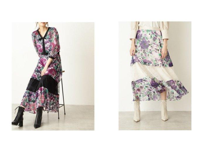 【JILL STUART/ジルスチュアート】のクレアフラワースカート 【スカート】おすすめ!人気、トレンド・レディースファッションの通販 おすすめ人気トレンドファッション通販アイテム インテリア・キッズ・メンズ・レディースファッション・服の通販 founy(ファニー) https://founy.com/ ファッション Fashion レディースファッション WOMEN スカート Skirt コンビ セットアップ ティアード フラワー レース |ID:crp329100000061308