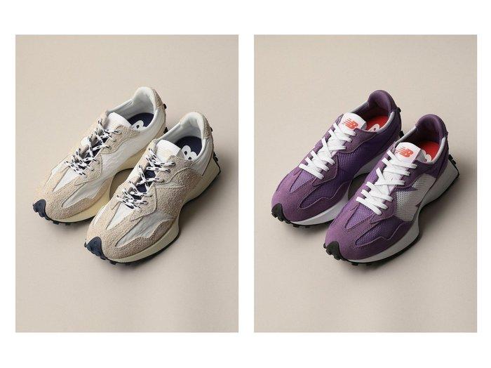 【Odette e Odile/オデット エ オディール】の【WEB限定】 New Balance(ニューバランス) MS327Lux&【WEB限定】 New Balance(ニューバランス) WS327HE 【シューズ・靴】おすすめ!人気、トレンド・レディースファッションの通販 おすすめ人気トレンドファッション通販アイテム インテリア・キッズ・メンズ・レディースファッション・服の通販 founy(ファニー) https://founy.com/ ファッション Fashion レディースファッション WOMEN コンビ シューズ スタイリッシュ スニーカー スポーツ スリッポン バランス フィット フォルム ボストン メッシュ NEW・新作・新着・新入荷 New Arrivals ベーシック |ID:crp329100000061312