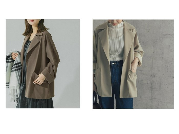 【URBAN RESEARCH ROSSO/アーバンリサーチ ロッソ】のオーバーサイズジャケットコート 【アウター】おすすめ!人気、トレンド・レディースファッションの通販 おすすめ人気トレンドファッション通販アイテム 人気、トレンドファッション・服の通販 founy(ファニー)  ファッション Fashion レディースファッション WOMEN アウター Coat Outerwear コート Coats ジャケット Jackets NEW・新作・新着・新入荷 New Arrivals おすすめ Recommend シンプル ジャケット ボトム ロング 再入荷 Restock/Back in Stock/Re Arrival |ID:crp329100000061328