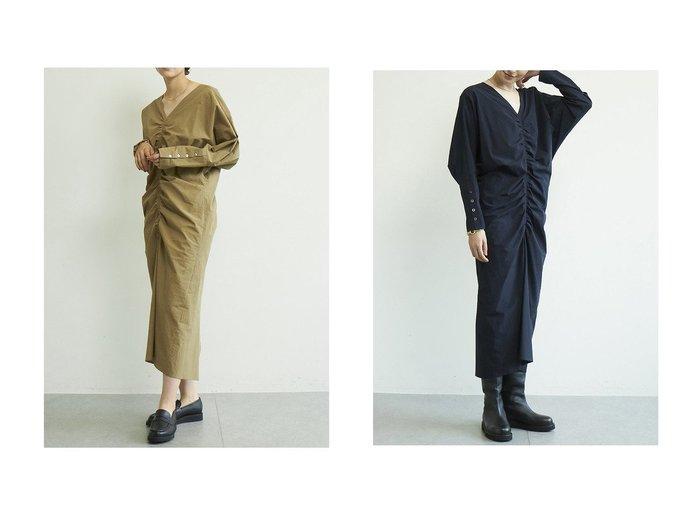【GALLARDAGALANTE/ガリャルダガランテ】のシャーリングコットンワンピース 【ワンピース・ドレス】おすすめ!人気、トレンド・レディースファッションの通販 おすすめ人気トレンドファッション通販アイテム 人気、トレンドファッション・服の通販 founy(ファニー) ファッション Fashion レディースファッション WOMEN ワンピース Dress チュニック Tunic 2020年 2020 2020-2021秋冬・A/W AW・Autumn/Winter・FW・Fall-Winter/2020-2021 2021年 2021 2021-2022秋冬・A/W AW・Autumn/Winter・FW・Fall-Winter・2021-2022 A/W・秋冬 AW・Autumn/Winter・FW・Fall-Winter エアリー シャーリング スリット チュニック バランス ロング |ID:crp329100000061331